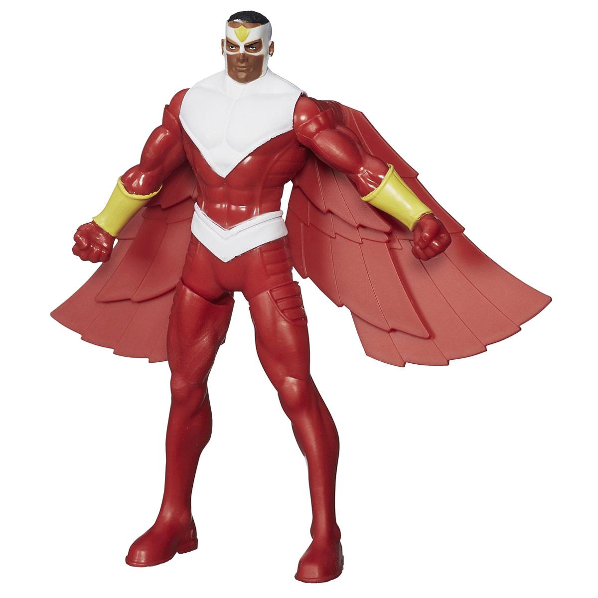 Боевая фигурка Avengers Marvels Falcon, 16 смB1202_B1810Боевая фигурка Avengers Marvels Falcon порадует любого маленького поклонника знаменитой серии Мстители (Avengers). Фигурка изготовлена из высококачественного прочного пластика и выполнена в виде супергероя Сокола. Сведите ноги фигурки вместе, и Сокол поднимет руки и расправит крылья. Фигурка отличается высоким качеством исполнения и детализации. Сокол родился в жестоком районе Гарлема. Он владеет навыками акробатики, рукопашного боя, а также боя в воздухе, чего он достиг частыми тренировками в своём костюме, позволяющем летать. Также он владеет телепатической связью с птицами. Фигурка понравится как детям, так и взрослым коллекционерам, она станет отличным сувениром или займет достойное место в коллекции любого поклонника комиксов о непобедимых Мстителях.