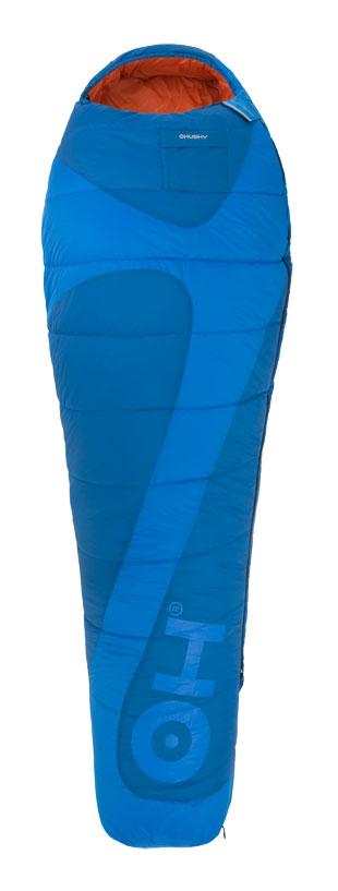 Спальный мешок Husky Montello, левосторонняя молния, цвет: голубой