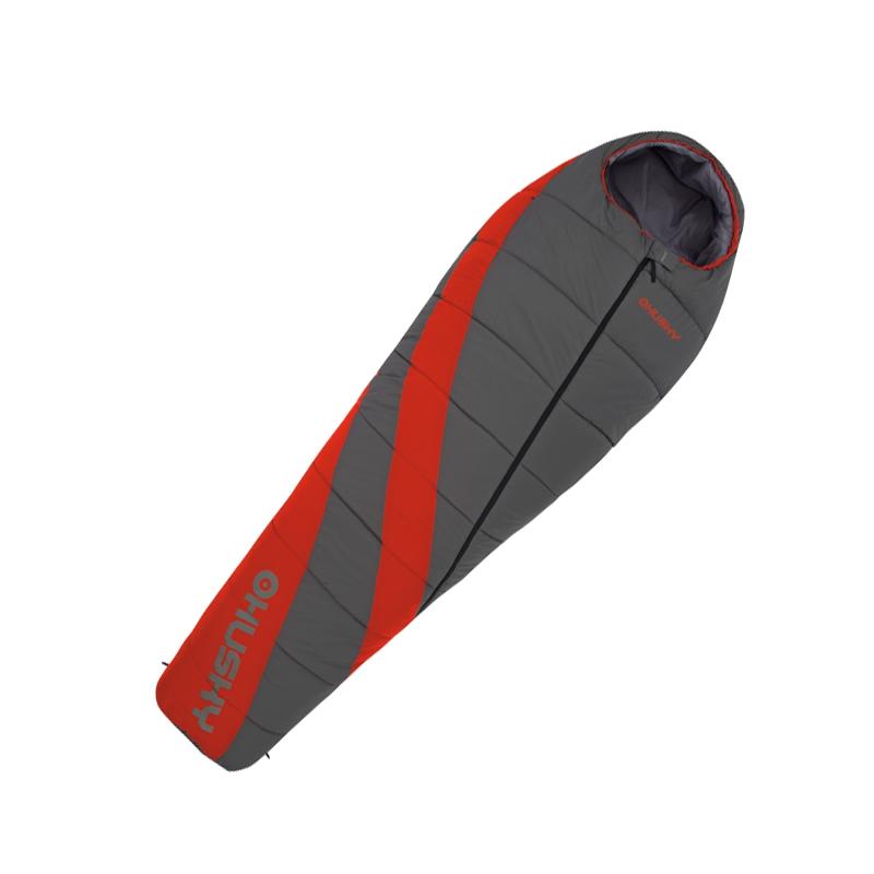 Спальный мешок Husky Emotion, левосторонняя молнияУТ-000047871Спальник-кокон для экстремально холодных условий с утеплителем QualloFil (синтетическое волокно, по теплопроводности и весу не уступающее Thermolite) отличается от других моделей уникальными дополнительными деталями. Оснащение: - сменный вкладыш для ног; - теплоизоляционный воротник; - капюшон с карманом; - внешний карман; - двухсторонняя молния; - антискользящие полосы. В комплект также входит компрессионный мешок.