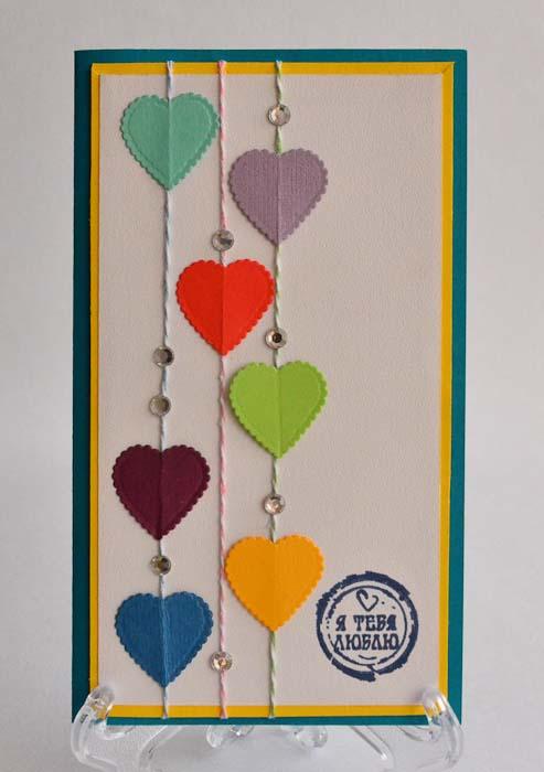 Открытка-конверт Я тебя люблю. Студия Тетя РозаОВЛ-0003Характеристики: Размер 19 см x 11 см. Материал: Высоко-художественный картон, бумага, декор. Описание: Данная открытка может стать как прекрасным дополнением к вашему подарку, так и самостоятельным подарком. Так как открытка является и конвертом в который вы можете вложить ваш денежный подарок или просто написать ваши пожелания на вкладыше. Яркое любовное послание для любимых. Так же открытка упакована в пакетик для сохранности. Обращаем Ваше внимание на то, что открытка может незначительно отличаться от представленной на фото.