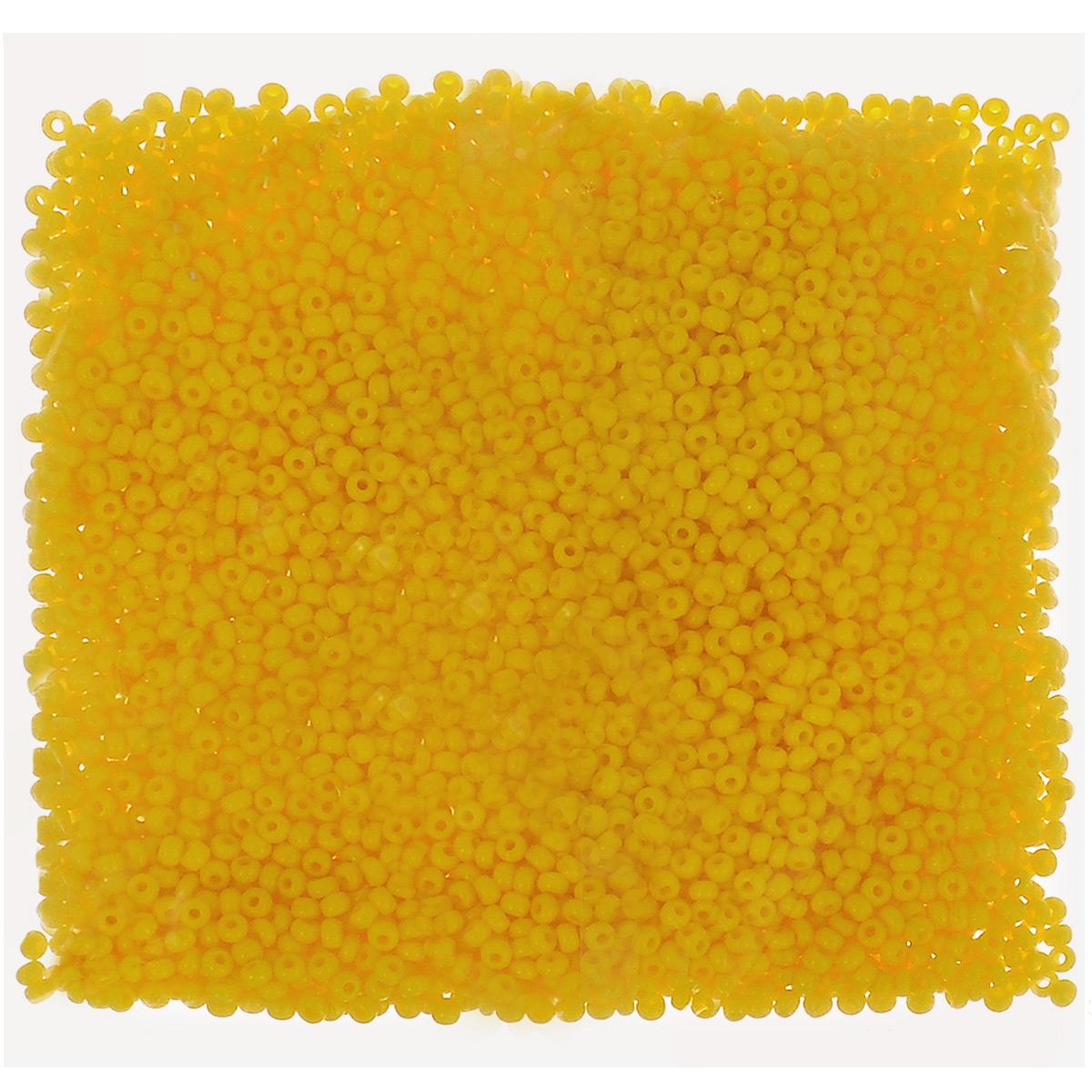 Бисер непрозрачный Preciosa, цвет: желтый (83130), размер 10/0, 50 г172018Бисер Preciosa, изготовленный из стекла круглой формы, позволит вам своими руками создать оригинальные ожерелья, бусы или браслеты, а также заняться вышиванием. В бисероплетении часто используют бисер разных размеров и цветов. Он идеально подойдет для вышивания на предметах быта и женской одежде. Изготовление украшений - занимательное хобби и реализация творческих способностей рукодельницы, это возможность создания неповторимого индивидуального подарка. Размер бисера: 10/0.