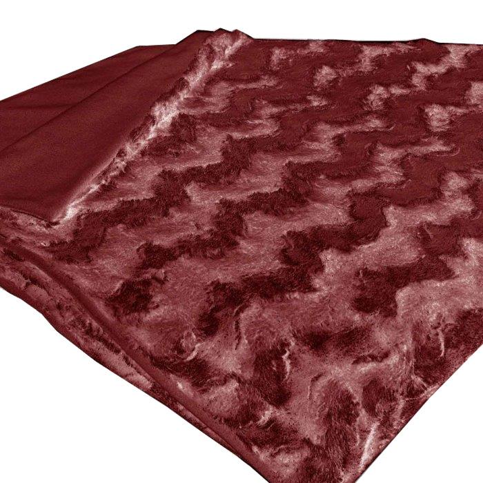 Плед Schaefer, цвет: красный, 150 см х 200 см07463-458Плед Schaefer, выполненный из 100% полиэстера, послужит теплым и практичным подарком близким людям. Изделие имеет мягкие ворсинки, которые дают ощущение нежности и легкости. Плед Schaefer также элегантно украсит интерьер вашей комнаты.