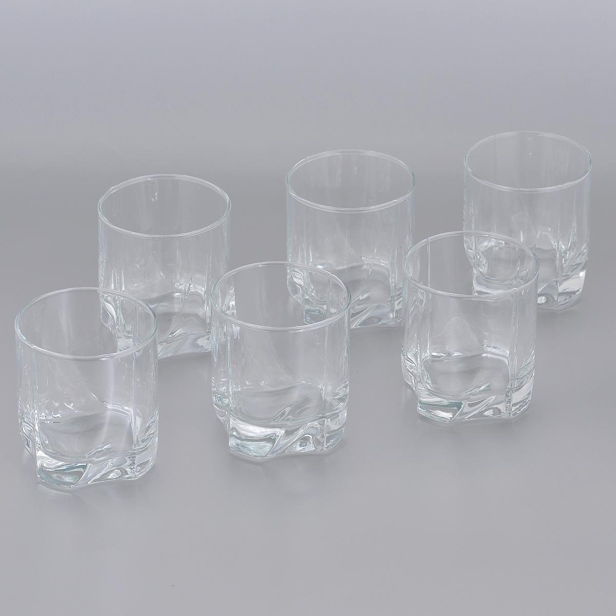 Набор стаканов Pasabahce Luna, 240 мл, 6 шт. 42338B42338BНабор Pasabahce Luna, выполненный из высококачественного стекла, состоит из шести стаканов. Изделия прекрасно подойдут для подачи виски. Эстетичность, функциональность и изящный дизайн сделают набор достойным дополнением к вашему кухонному инвентарю. Набор стаканов Pasabahce Luna украсит ваш стол и станет отличным подарком к любому празднику. Можно использовать в морозильной камере и микроволновой печи. Можно мыть в посудомоечной машине. Диаметр стакана по верхнему краю: 7 см. Высота стакана: 8 см.