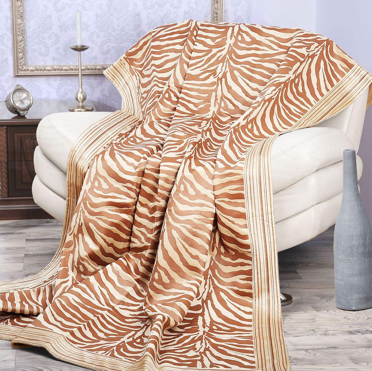 Покрывало Mona Liza Elite Indigo, цвет: бежевый, коричневый, 200 см х 220 см530961/1Роскошное покрывало Mona Liza Elite Indigo из высококачественного полиэстера гармонично впишется в интерьер вашего дома и создаст атмосферу уюта и комфорта. Такое покрывало согреет в прохладную погоду и будет превосходно дополнять интерьер вашей спальни. Высочайшее качество материала гарантирует безопасность не только взрослых, но и самых маленьких членов семьи. Небольшой ворс придает покрывалу мягкость и оригинальность. Покрывало может подчеркнуть любой стиль интерьера, задать ему нужный тон - от игривого до ностальгического. Покрывало - это такой подарок, который будет всегда актуален, особенно для ваших родных и близких, ведь вы дарите им частичку своего тепла! Покрывала серии Mona Liza Elite выполнены из шенилловой ткани деворе - при выжигании части волокон образуется характерный рельефный рисунок.