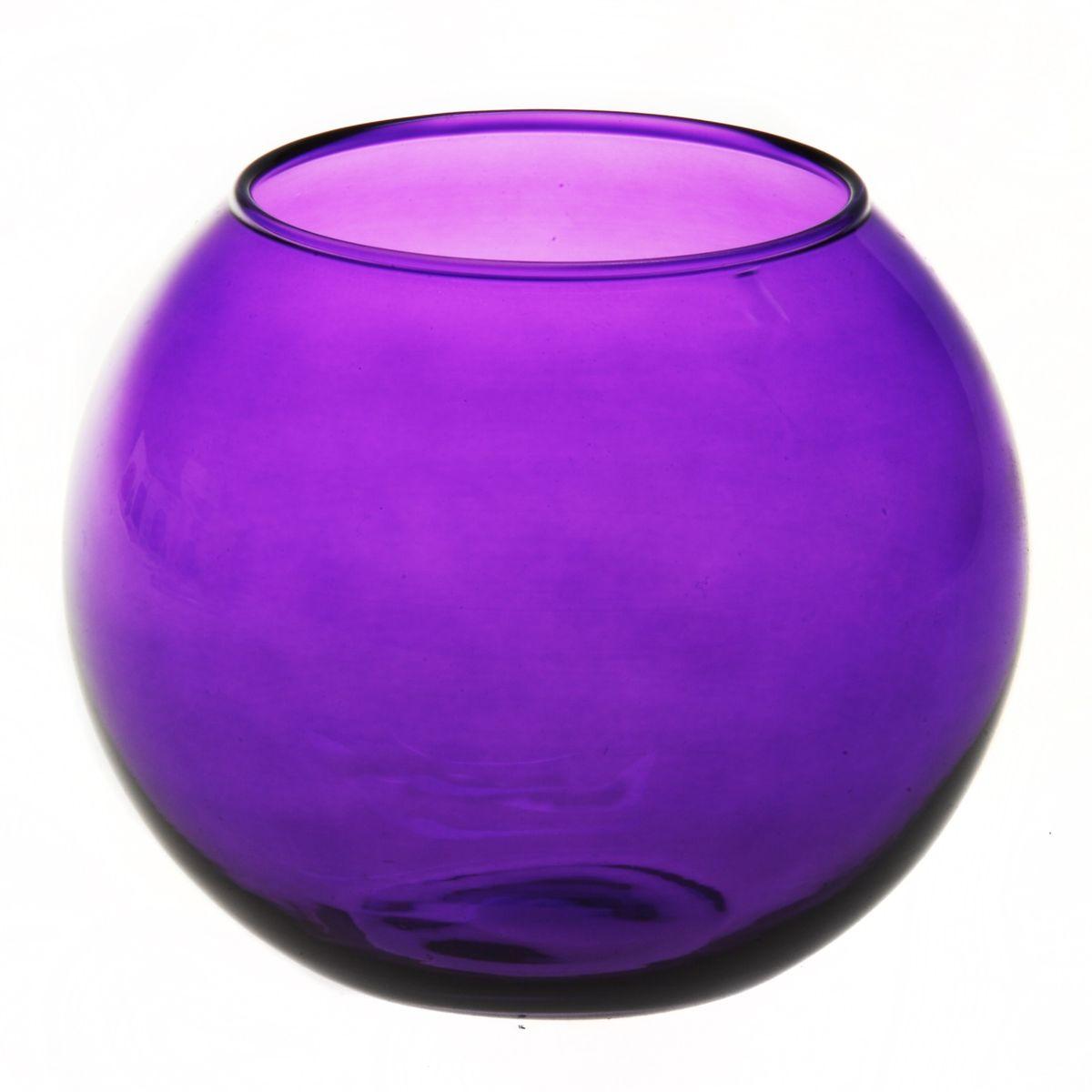 Ваза Workshop Flora, цвет: фиолетовый, высота 11 см43417PRВаза Workshop Flora, выполненная из натрий-кальций-силикатного стекла, сочетает в себе изысканный дизайн с максимальной функциональностью. Круглая ваза имеет гладкие одноцветные стенки. Она идеально подойдет для мелких цветов. Такая ваза придется по вкусу и ценителям классики, и тем, кто предпочитает утонченность и изысканность. Высота вазы: 11 см. Диаметр вазы (по верхнему краю): 7,9 см.