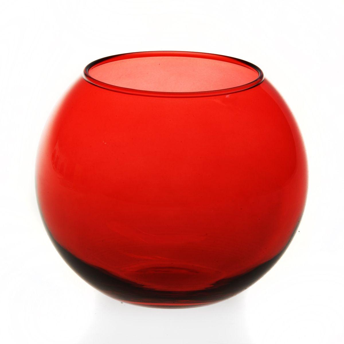 Ваза Workshop Flora, цвет: красный, высота 11 см43417RВаза Workshop Flora, выполненная из натрий-кальций-силикатного стекла, сочетает в себе изысканный дизайн с максимальной функциональностью. Круглая ваза имеет гладкие одноцветные стенки. Она идеально подойдет для мелких цветов. Такая ваза придется по вкусу и ценителям классики, и тем, кто предпочитает утонченность и изысканность. Высота вазы: 11 см. Диаметр вазы (по верхнему краю): 7,9 см.