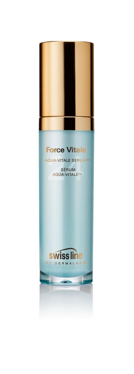 Swiss Line Force Vitale Сыворотка для лица Живая вода 24, 30 мл1118Интенсивная сыворотка для глубокого увлажнения и активного восстановления кожи. Содержит 24(!) активных ингредиента, среди которых питательные, увлажняющие, восстанавливающие компоненты, витамины и антиоксиданты. Сыворотка обеспечивает интенсивный уход, тонизацию и увлажнение кожи, улучшает качество макияжа и предотвращает шелушение обезвоженной кожи, замедляет ее преждевременное старение.