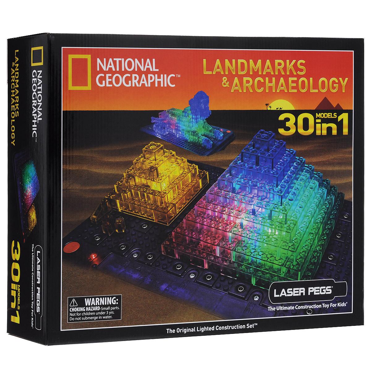 Laser Pegs Конструктор Археология 30 в 1