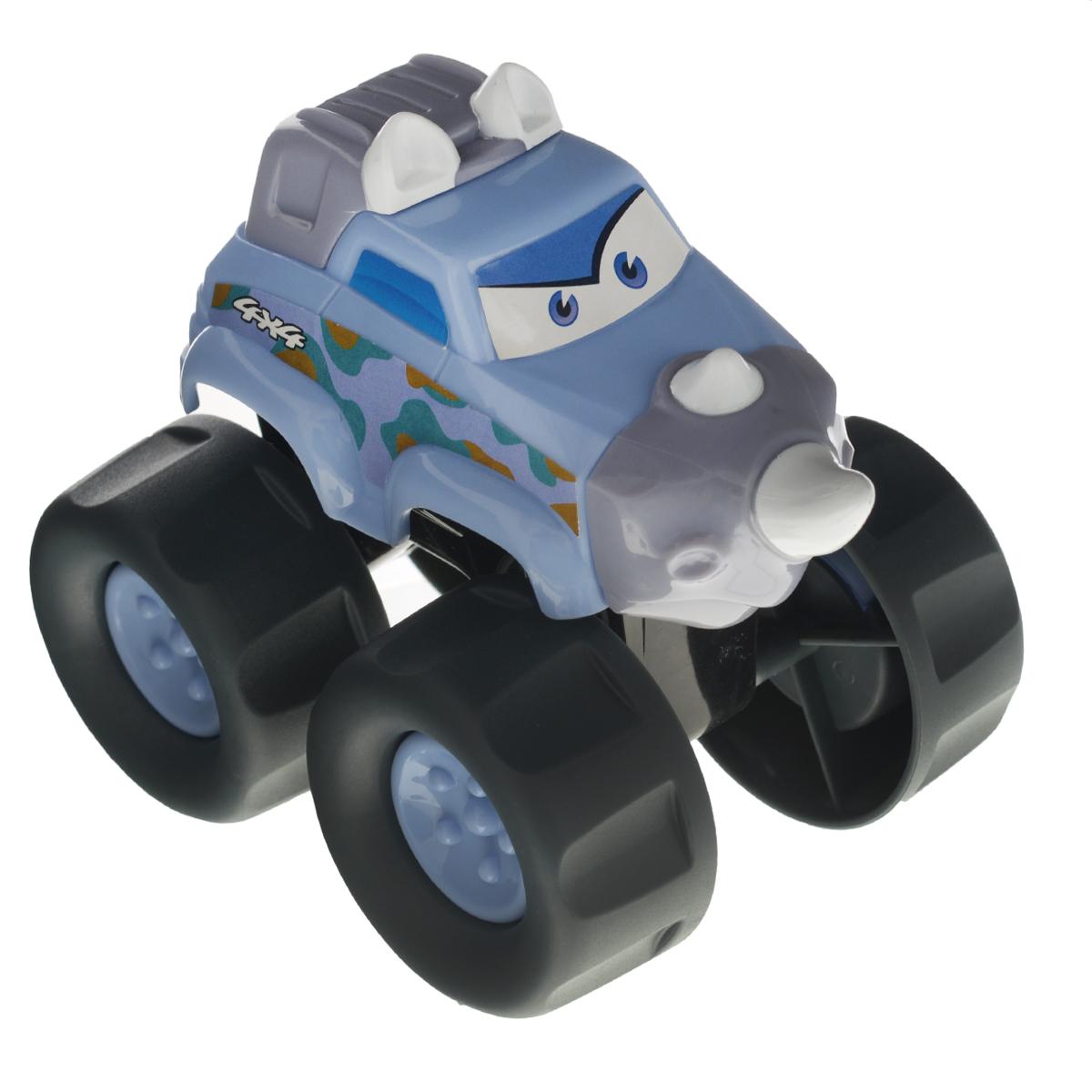 Playgo Развивающая игрушка Машинка-носорогPlay 20285/2Развивающая игрушка Playgo Машинка-носорог понравится вашему малышу. Машинка выполнена из безопасного пластика; корпус стилизован под носорога. Большие колеса с крупным протектором обеспечивают хорошую проходимость. Такая игрушка способствует развитию у малыша тактильных ощущений, мелкой моторики рук и координации движений.