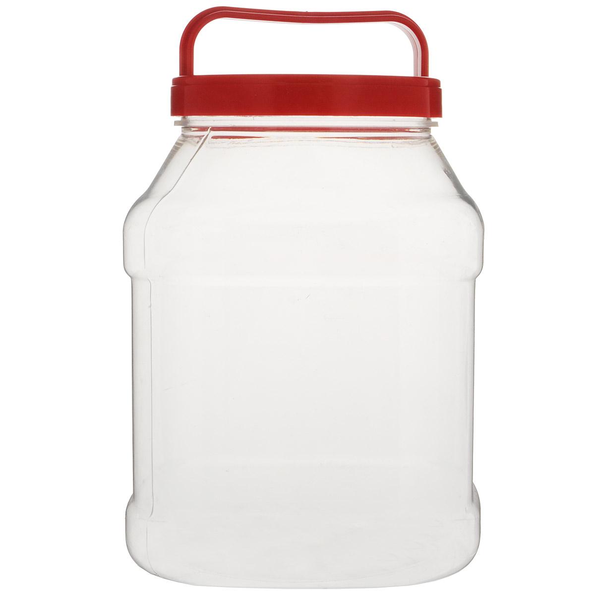 Бидон Альтернатива, прямоугольный, цвет: красный, 3 лМ463Бидон Альтернатива предназначен для хранения и переноски пищевых продуктов, таких как молоко, вода и прочее. Изделие выполнено из пищевого высококачественного ПЭТ. Оснащен ручкой для удобной переноски. Бидон Альтернатива станет незаменимым аксессуаром на вашей кухне. Диаметр: 10,5 см. Высота бидона (без учета крышки): 19 см. Размер дна: 15 см х 15 см.