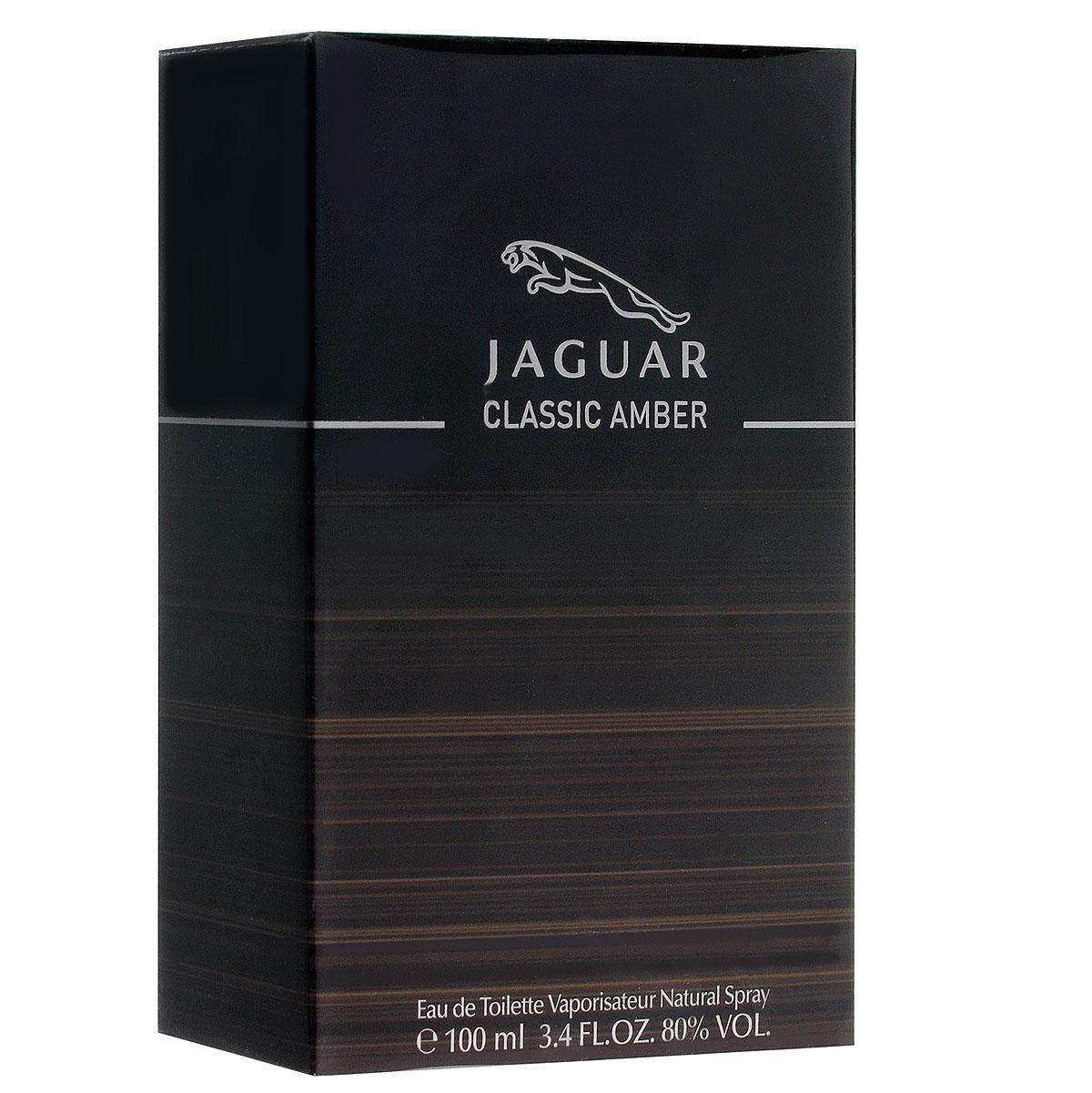 Jaguar Туалетная вода Classic Amber, мужская, 100 млJ370318Аромат Classic Amber от Jaguar - настоящая мужская элегантность, заключенная во флаконе. Так же, как автомобили Jaguar, не зависимо от времени, аромат подчеркивает тот же стиль и изысканность. Парфюмер - Доминик Прейсса. Классификация аромата : фужерный, восточный. Пирамида аромата : Верхние ноты: мандарин, грейпфрут, петитгрейн, розовый перец. Ноты сердца: корица, смола элеми, пряный черный перец, флердоранж, яблоко. Ноты шлейфа: кедр, ветивер, ладан, ваниль, кожаный нюанс, мускус. Ключевые слова Мужественный, загадочный, чувственный! Туалетная вода - один из самых популярных видов парфюмерной продукции. Туалетная вода содержит 4-10% парфюмерного экстракта. Главные достоинства данного типа продукции заключаются в доступной цене, разнообразии форматов (как правило, 30, 50, 75, 100 мл), удобстве использования (чаще всего - спрей). Идеальна...