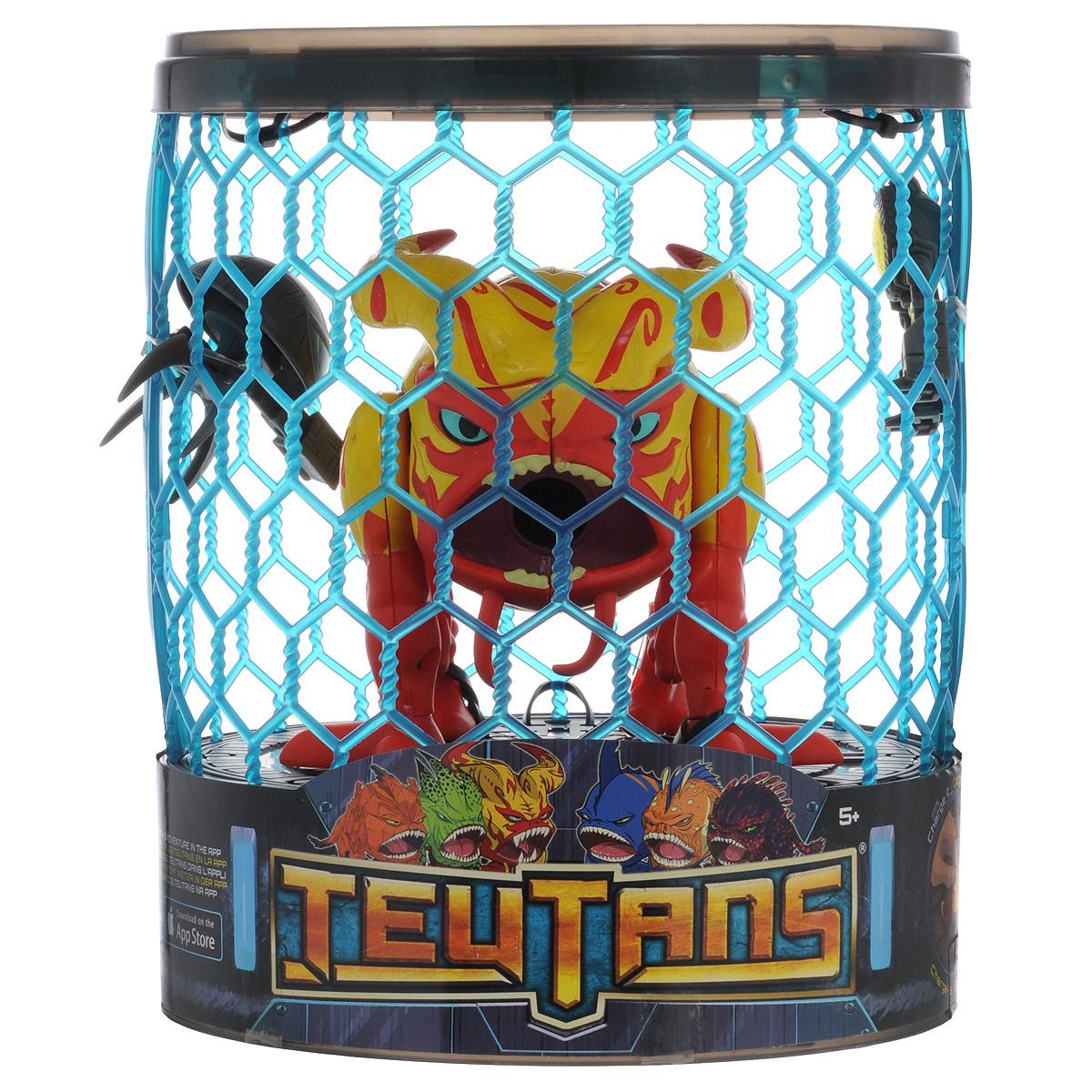 Набор фигурок Teutans, цвет: красный, желтый1132192 красныйНабор фигурок Teutans обязательно понравится вашему ребенку! На планете Теон обитают дикие и примитивные существа, известные как Теутаны, которым приходится сражаться против вторжения злобных роботов - Бадуллсов. Оптиком, командир армии противника, жаждет истребить всех Теутанов и присвоить их родную планету себе. Для защиты своего народа и планеты вызвались шесть отважных героев: Квейк, Муз, Зед, Лево, Вом и Крал. Эти герои способны стрелять пулями и разрушительными ракетами изо рта, а также взаимодействовать с мобильными устройствами через специальное приложение, которое позволит ребенку разнообразить игровой процесс и получать новый игровой опыт, проходя уровень за уровнем. В набор входят 3 фигурки - 2 фигурки роботов и фигурка Лево, а также клетка, которую можно использовать как игровой элемент. Когда на поле битвы Лево - атмосфера накаляется! Если шары и ракеты не были эффективны, он добавляет им нотку огненной ярости! Благодаря маленьким размерам фигурок...