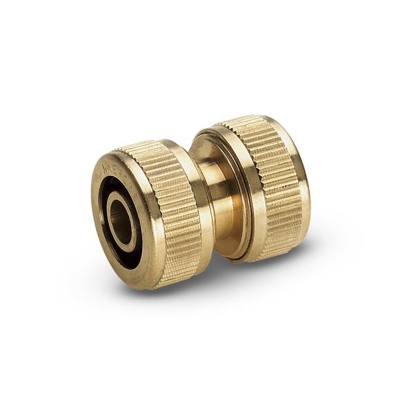 Муфта ремонтная Karcher, 1/2, 5/8 2.645-102.02.645-102.0Муфта ремонтная Karcher предназначена для соединения шлангов 1/2, 5/8 напрямую, тем самым позволяя увеличить дальность полива. Также может применяться для ремонта поврежденного шланга. Она обеспечивает быстрое соединение шланга в случае повреждения, разрыва, удлинения. Муфта выполнена из латуни, что обеспечивает ей долгий срок эксплуатации. Размеры муфты: 140 мм x 82 мм x 39 мм.