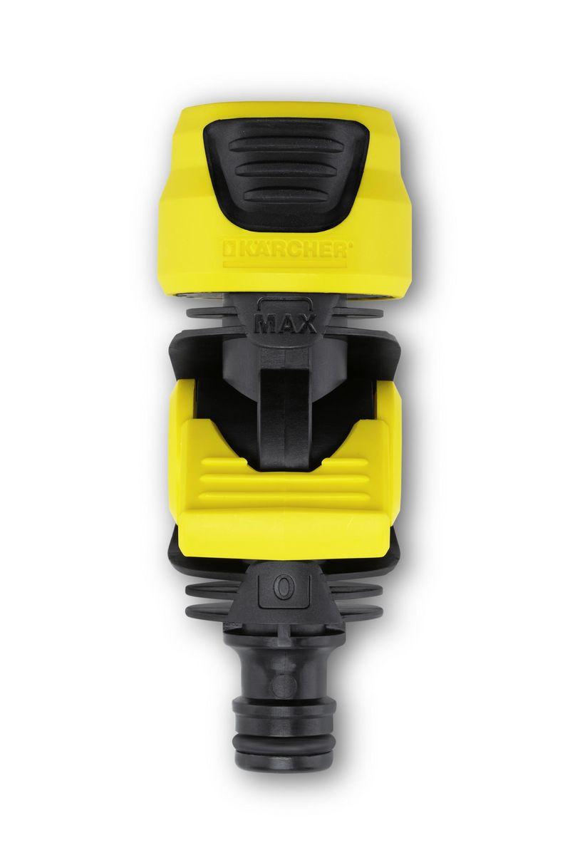 Коннектор с регулирующим клапаном Karcher 2.645-198.02.645-198.0Коннектор Karcher с регулятором потока воды. Применяется для подключения дождевателей без встроенного регулятора напора воды. Используется между двумя шлангами или между шлангом и разбрызгивающей головкой.