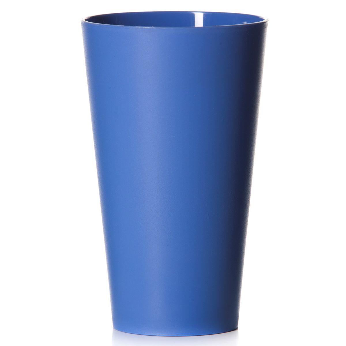 Стакан House & Holder, цвет: синий, 570 млM-218Стакан House & Holder изготовлен из прочного высококачественного полипропилена. Изделие предназначено для воды, сока и других напитков. Стакан сочетает в себе яркий дизайн и функциональность. Благодаря такому стакану пить напитки будет еще вкуснее. Стакан House & Holder можно использовать дома, на даче или на пикнике. Можно использовать в посудомоечной машине и микроволновой печи. Диаметр стакана по верхнему краю: 9 см. Высота стакана: 15 см. Диаметр основания: 6 см.