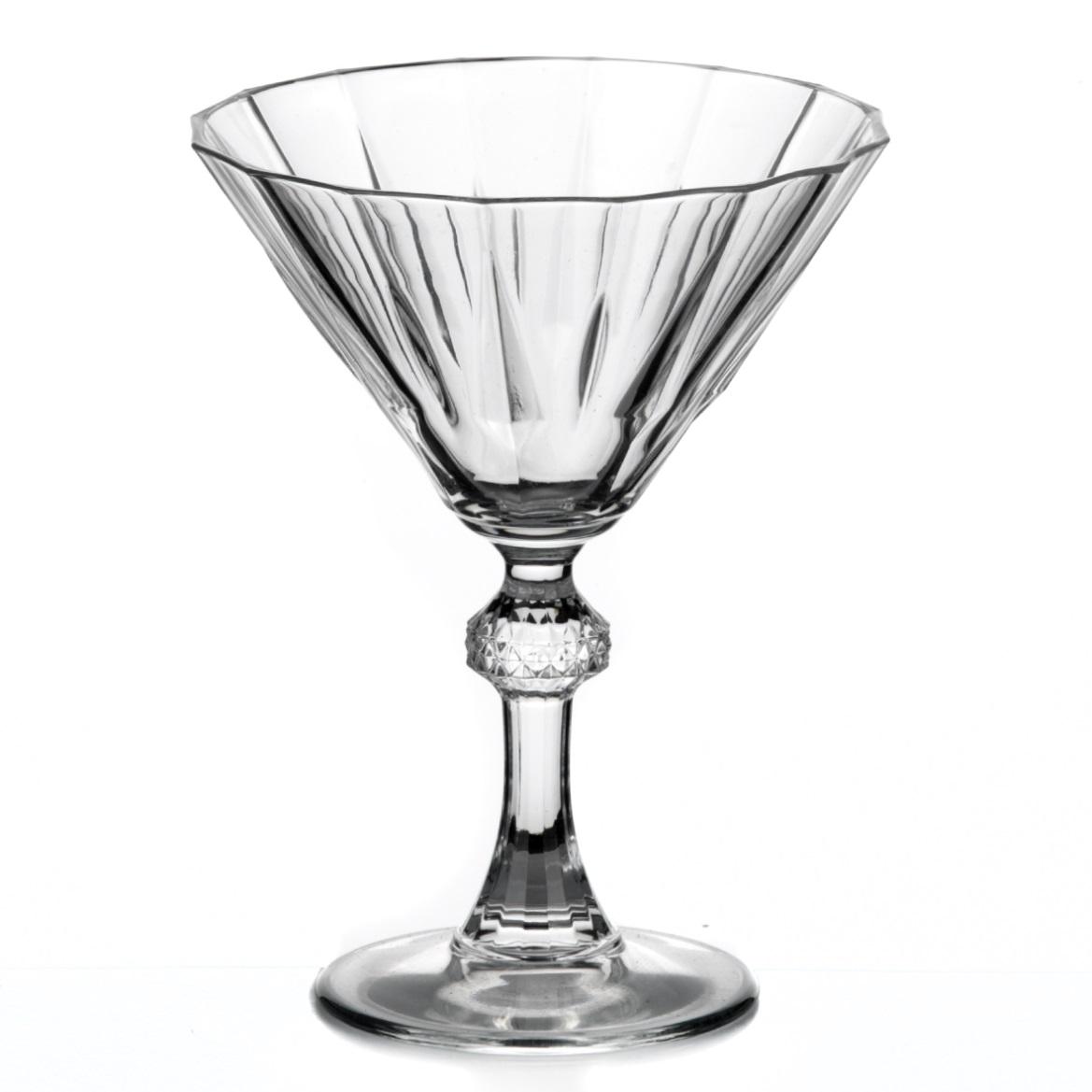 Набор бокалов для мартини Pasabahce Diamond, цвет: прозрачный, 238 мл, 6 шт440099Набор Pasabahce Diamond состоит из шести бокалов, выполненных из прочного натрий-кальций-силикатного стекла. Изделия имеют рельефную поверхность. Набор предназначен для подачи мартини. Бокалы сочетают в себе элегантный дизайн и функциональность. Благодаря такому набору пить напитки будет еще вкуснее. Набор бокалов Pasabahce Diamond прекрасно оформит праздничный стол и создаст приятную атмосферу за романтическим ужином. Такой набор также станет хорошим подарком к любому случаю. Можно мыть в посудомоечной машине. Диаметр бокала (по верхнему краю): 11,5 см. Высота бокала: 15 см.