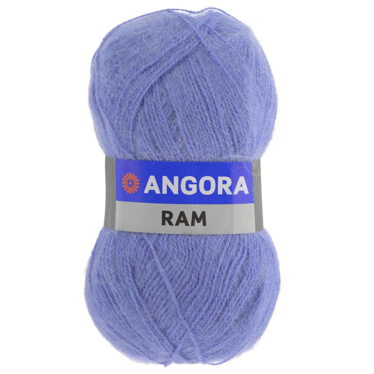 Пряжа для вязания YarnArt Angora Ram, цвет: сирень (553), 500 м, 100 г, 5 шт372037_553Пряжа для вязания YarnArt Angora Ram изготовлена из натурального мохера с добавлением акрила. Пряжа из такого материала обладает повышенной прочностью и эластичностью, а изделия получаются теплые и уютные. Скрутка нити плотная, равномерная, не расслаивается, не путается, хорошо скользит по спицам, вяжется очень легко. Петли выглядят аккуратно, а натуральный мохер обеспечивает теплоту, легкость и превосходный внешний вид. Нить можно комбинировать с полушерстяными пряжами для смягчения рисунка, придания благородной пушистости фактуре нити, а также для улучшения тепловых характеристик. Благодаря содержанию синтетических волокон, изделия из YarnArt Angora Ram устойчивы к скатыванию, а благодаря своей мягкости такая пряжа подходит для детских вещей. Ажурные вещи сохраняют тепло не хуже плотного вязания, оставаясь легкими и объемными. Рекомендована ручная стирка до 30°C. Рекомендованные спицы и крючок для вязания 4 мм. ...