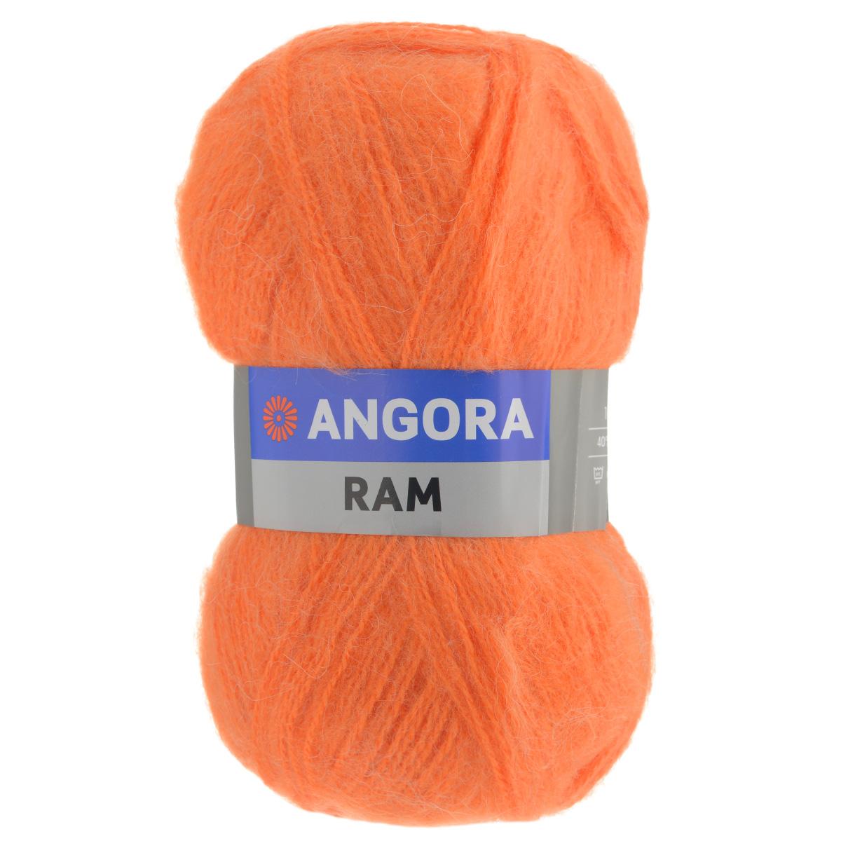 Пряжа для вязания YarnArt Angora Ram, цвет: морковный (3067), 500 м, 100 г, 5 шт372037_8273Пряжа для вязания YarnArt Angora Ram изготовлена из натурального мохера с добавлением акрила. Пряжа из такого материала обладает повышенной прочностью и эластичностью, а изделия получаются теплые и уютные. Скрутка нити плотная, равномерная, не расслаивается, не путается, хорошо скользит по спицам, вяжется очень легко. Петли выглядят аккуратно, а натуральный мохер обеспечивает теплоту, легкость и превосходный внешний вид. Нить можно комбинировать с полушерстяными пряжами для смягчения рисунка, придания благородной пушистости фактуре нити, а также для улучшения тепловых характеристик. Благодаря содержанию синтетических волокон, изделия из YarnArt Angora Ram устойчивы к скатыванию, а благодаря своей мягкости такая пряжа подходит для детских вещей. Ажурные вещи сохраняют тепло не хуже плотного вязания, оставаясь легкими и объемными. Рекомендована ручная стирка до 30°C. Рекомендованные спицы и крючок для вязания 4 мм. ...