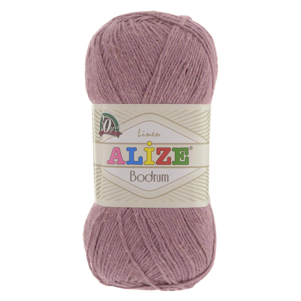 Пряжа для вязания Alize Bodrum, цвет: грязно-розовый (144), 280 м, 100 г, 5 шт697547_144Пряжа для вязания Alize Bodrum с натуральной цветовой гаммой подходит для ручного вязания детям и взрослым. Приятная на ощупь нить сочетает в себе лен и полиэстер. Такая пряжа идеально подойдет для вязания весенних и летних изделий. Рекомендованные спицы 3-5 мм и крючок для вязания 2-3 мм. Комплектация: 5 мотков. Состав: 48% лен, 52% полиэстер. Рекомендована ручная стирка.