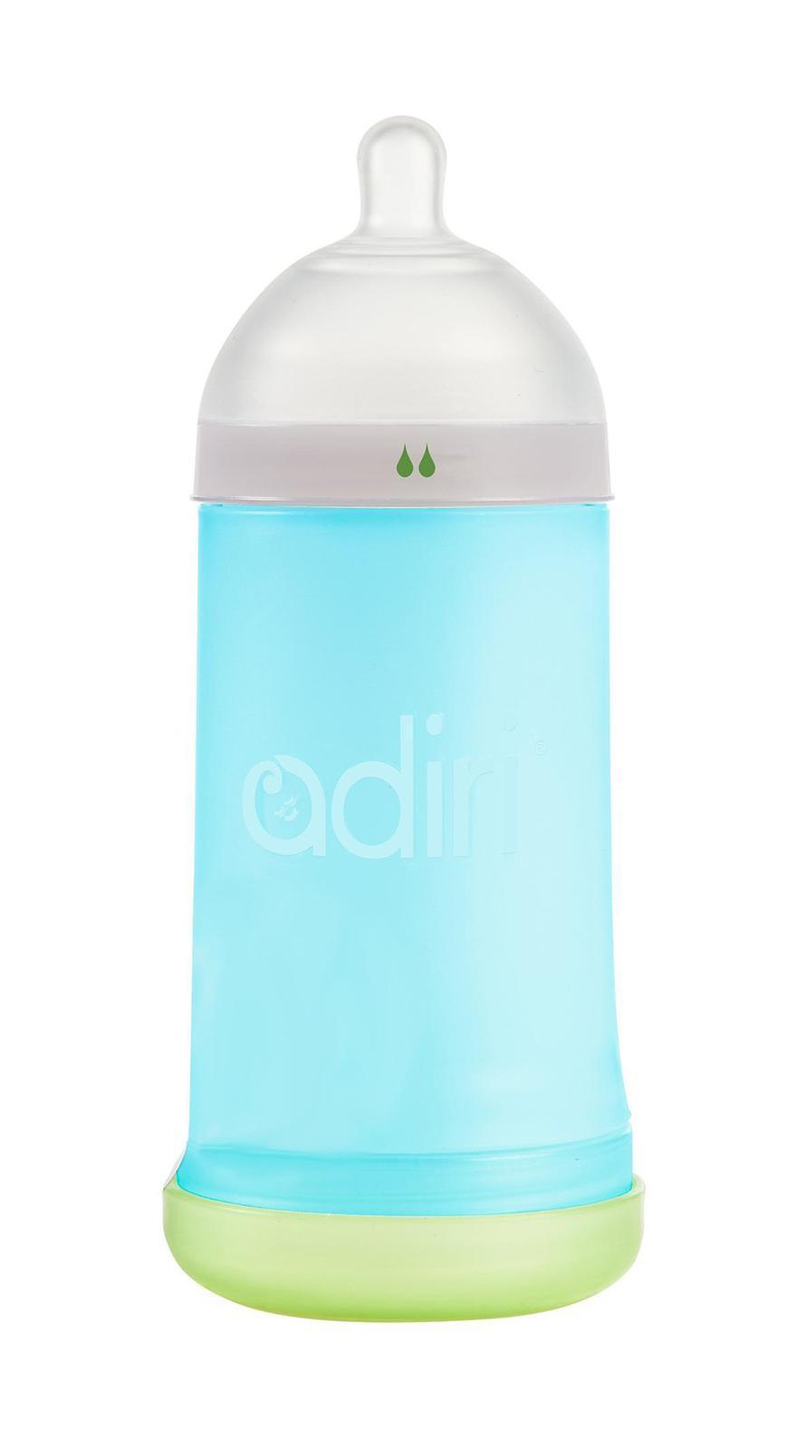 Детская бутылочка Adiri NxGen Slow Flow Blue, 3-6 мес., 281 мл.