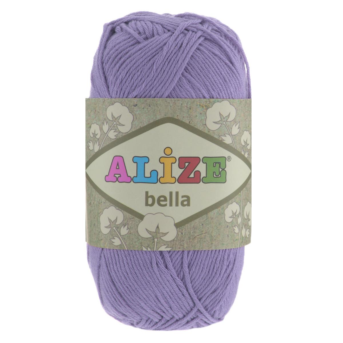 Пряжа для вязания Alize Bella, цвет: лавандовый (158), 180 м, 50 г, 5 шт364124_158Пряжа Alize Bella подходит для ручного вязания детям и взрослым. Пряжа однотонная, приятная на ощупь, хорошо лежит в полотне. Изделия из такой нити получаются мягкие и красивые. Рекомендованные спицы 2-4 мм и крючок для вязания 1-3 мм. Комплектация: 5 мотков. Состав: 100% хлопок.