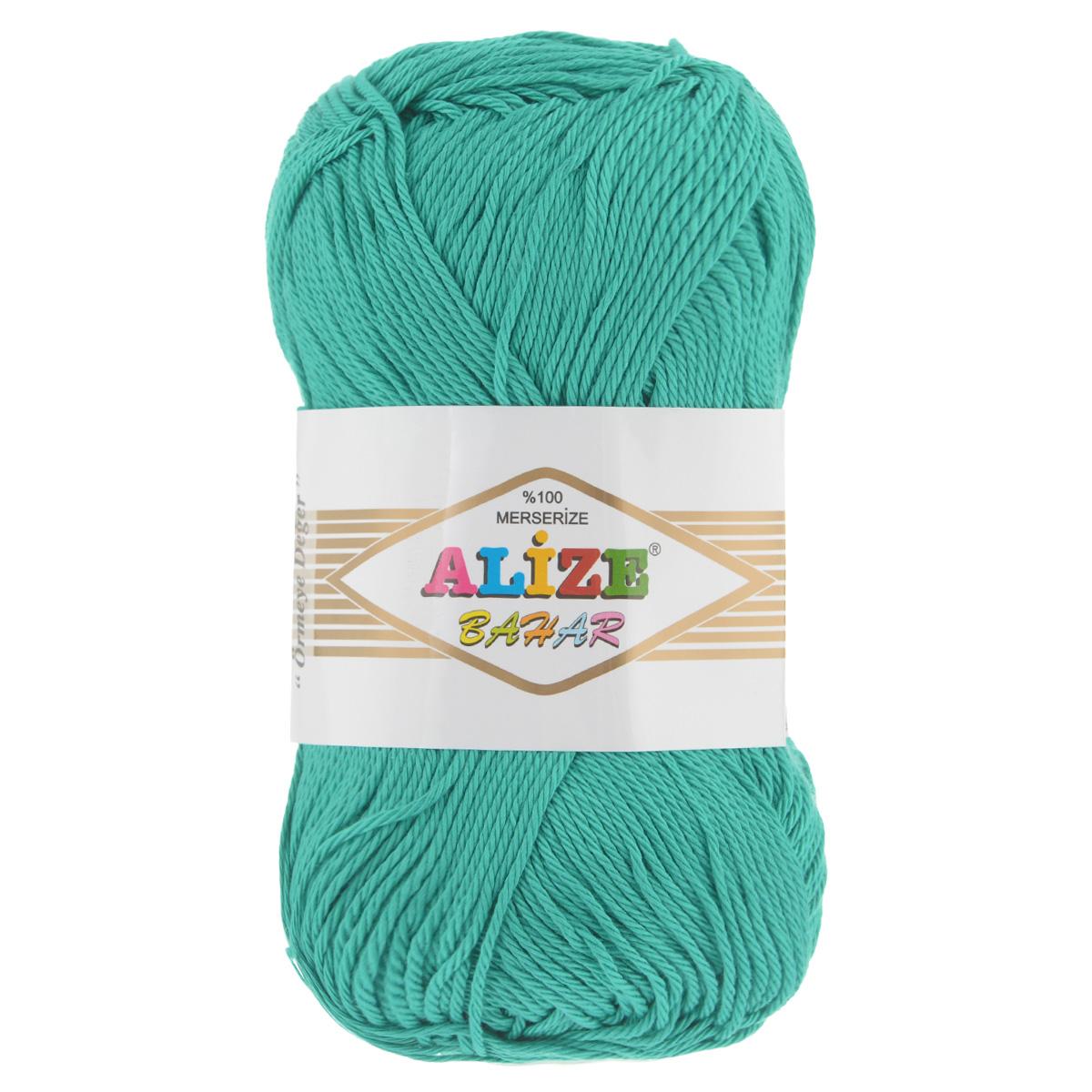 Пряжа для вязания Alize Bahar, цвет: зеленый (610), 260 м, 100 г, 5 шт364089_610Пряжа Alize Bahar подходит для ручного вязания детям и взрослым. Пряжа однотонная, приятная на ощупь, хорошо лежит в полотне. Изделия из такой нити получаются мягкие и красивые. Рекомендованные спицы 3-5 мм и крючок для вязания 2-4 мм. Комплектация: 5 мотков. Состав: 100% хлопок.
