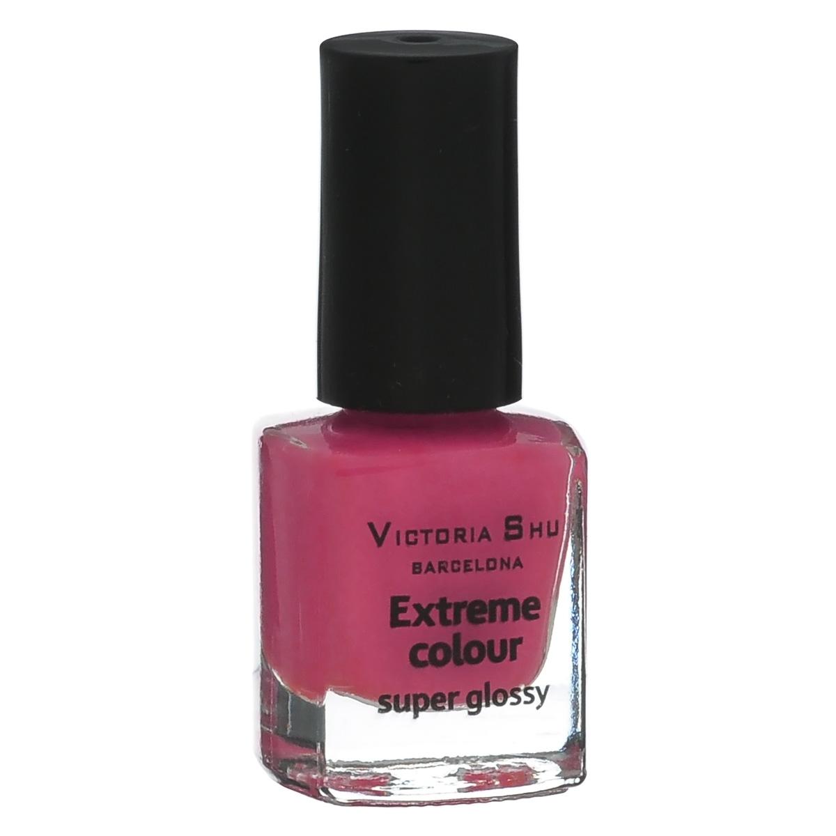 Victoria Shu Лак для ногтей Extreme Colour, тон № 251, 6 мл602V15184EXTREME COLOUR от VICTORIA SHU – это 35 ярких, смелых, соблазнительных оттенков. Модный тренд – матовая, насыщенная текстура. Любые цвета – на любой вкус, от нежных пастельных, интенсивных супермодных оранжевых, лиловых и оттенков фуксии до сенсационных красного и черного.