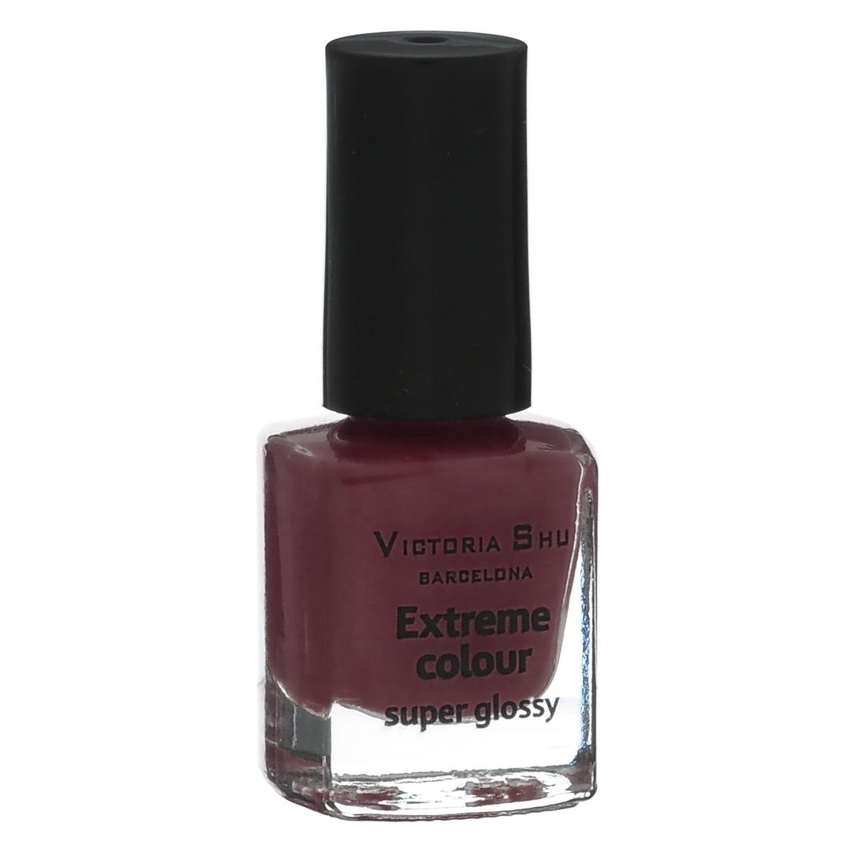 Victoria Shu Лак для ногтей Extreme Colour, тон № 267, 6 мл784V15364EXTREME COLOUR от VICTORIA SHU – это 35 ярких, смелых, соблазнительных оттенков. Модный тренд – матовая, насыщенная текстура. Любые цвета – на любой вкус, от нежных пастельных, интенсивных супермодных оранжевых, лиловых и оттенков фуксии до сенсационных красного и черного.
