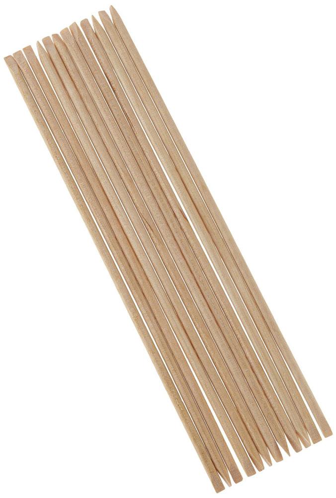 Jessica Апельсиновые палочки Oranqewood Sticks (упаковка) 12 штTP 110Высококачественные палочки для маникюра из апельсинового дерева.