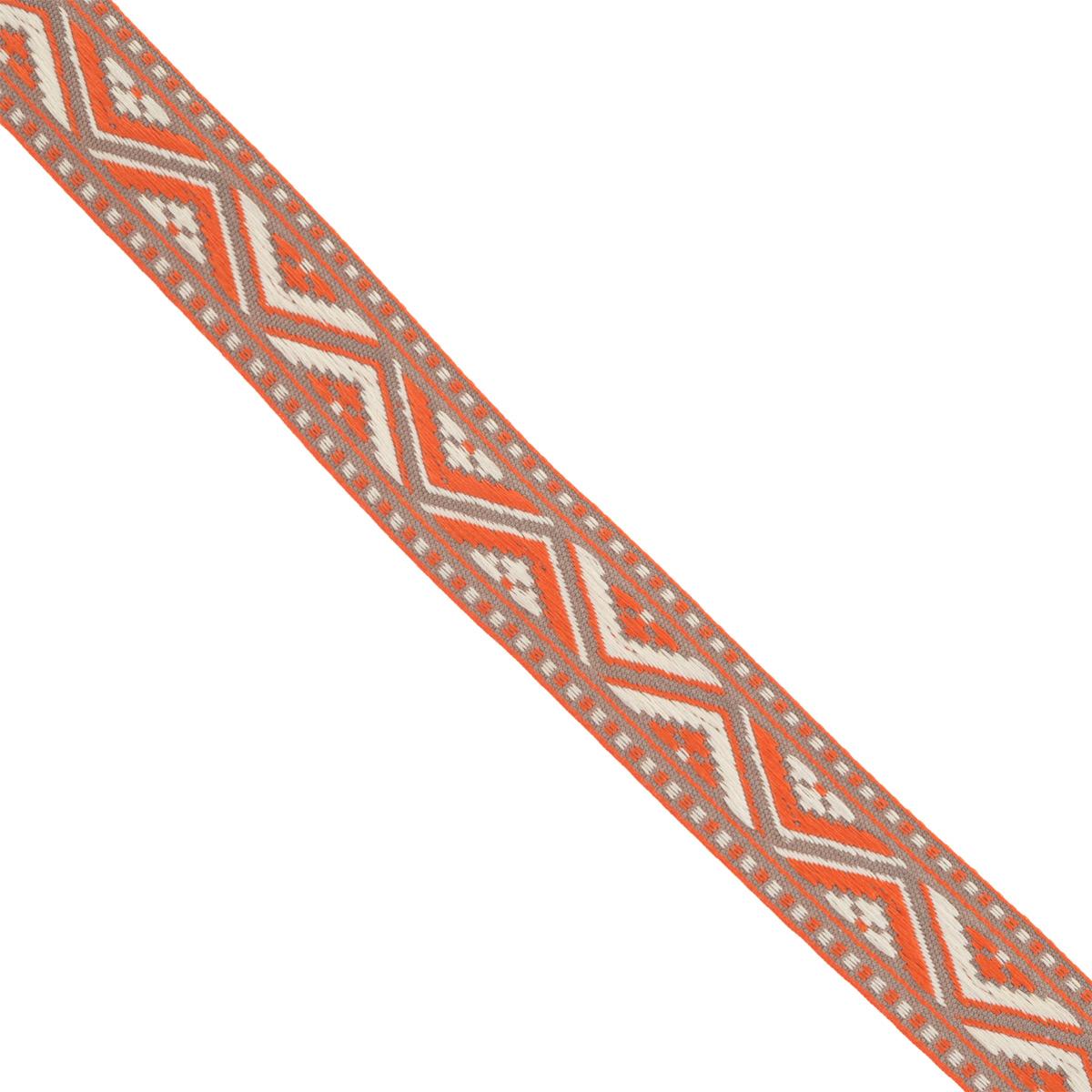 Тесьма декоративная Астра, цвет: красный (1), ширина 2 см, длина 16,4 м. 77032727703272_1Декоративная тесьма Астра выполнена из текстиля и оформлена оригинальным орнаментом. Такая тесьма идеально подойдет для оформления различных творческих работ таких, как скрапбукинг, аппликация, декор коробок и открыток и многое другое. Тесьма наивысшего качества и практична в использовании. Она станет незаменимым элементом в создании рукотворного шедевра. Ширина: 2 см. Длина: 16,4 м.