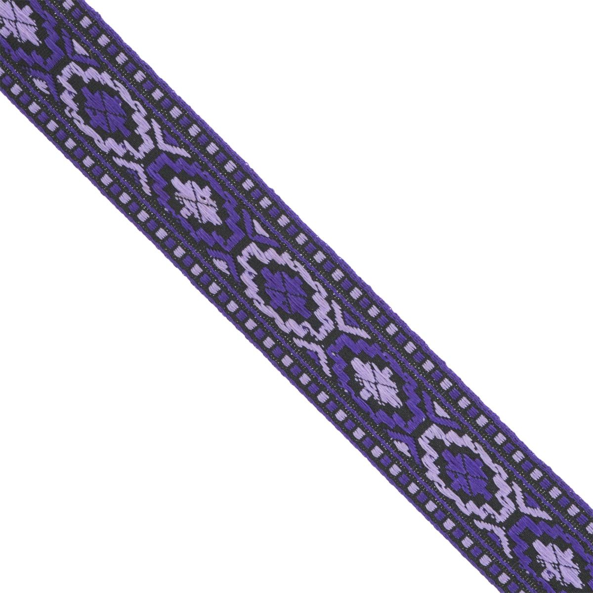Тесьма декоративная Астра, цвет: ярко-фиолетовый (1), ширина 2 см, длина 16,4 м. 77032847703284_1Декоративная тесьма Астра выполнена из жаккарда и оформлена оригинальным орнаментом. Такая тесьма идеально подойдет для оформления различных творческих работ таких, как скрапбукинг, аппликация, декор коробок и открыток и многое другое. Тесьма наивысшего качества практична в использовании. Она станет незаменимым элементом в создании рукотворного шедевра. Ширина: 2 см. Длина: 16,4 м.
