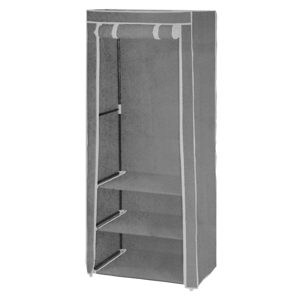 Мобильный шкаф для хранения, цвет: серый, 61 х 45 х 155 см ( WD-5113-C1 )