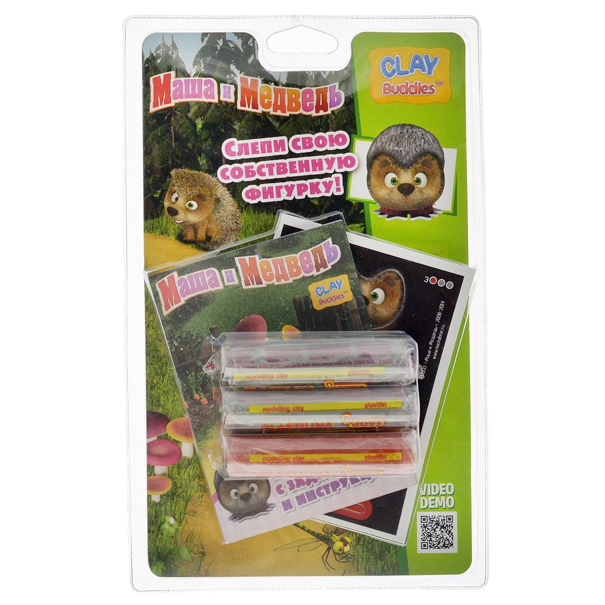 Giromax Набор для лепки Маша и Медведь. Ежик306420_ежикНабор для лепки Giromax Маша и Медведь. Ежик позволит вашему ребенку создать поделку в виде Ежика - персонажа популярного мультсериала Маша и Медведь. Набор включает три бруска пластилина (один красного цвета, два других - серого), картонный лист с красочными элементами для оформления поделки, липучку для наклеивания элементов, а также брошюру с заданиями и инструкцией на русском языке. Работа с пластилином для лепки подарит вашему ребенку положительные эмоции, а также поможет развить мелкую моторику рук, внимательность и усидчивость.