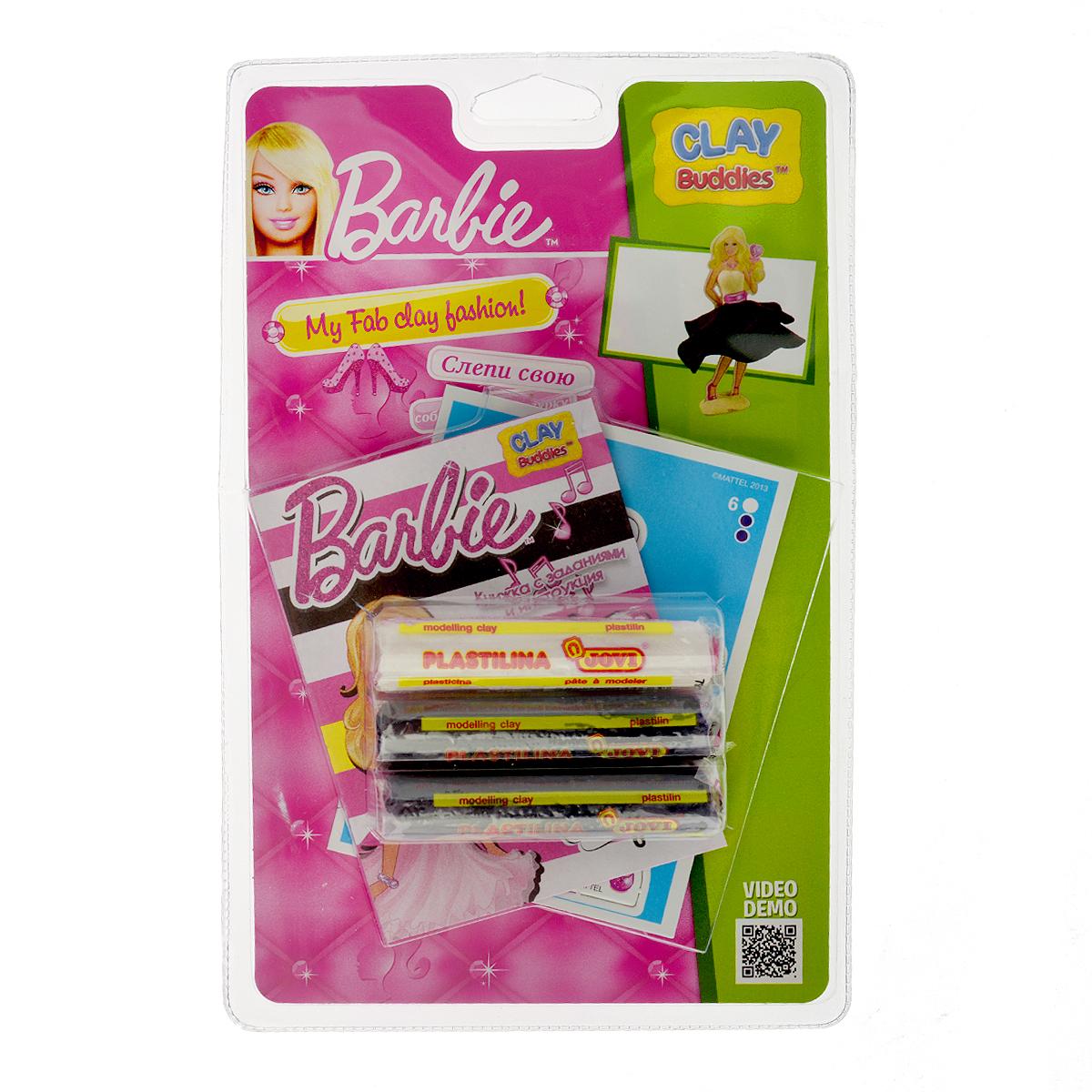 Giromax Набор для лепки Barbie с сердечком307571_сердечкоНабор для лепки Giromax Barbie с сердечком позволит вашему ребенку создать поделку в виде очаровательной Барби с сердечком на палочке в руке. Набор включает три бруска пластилина (один белого цвета, два других - темно-фиолетового), картонный лист с красочными элементами для оформления поделки, липучку для наклеивания элементов, а также брошюру с заданиями и инструкцией на русском языке. Работа с пластилином для лепки подарит вашему ребенку положительные эмоции, а также поможет развить мелкую моторику рук, внимательность и усидчивость.