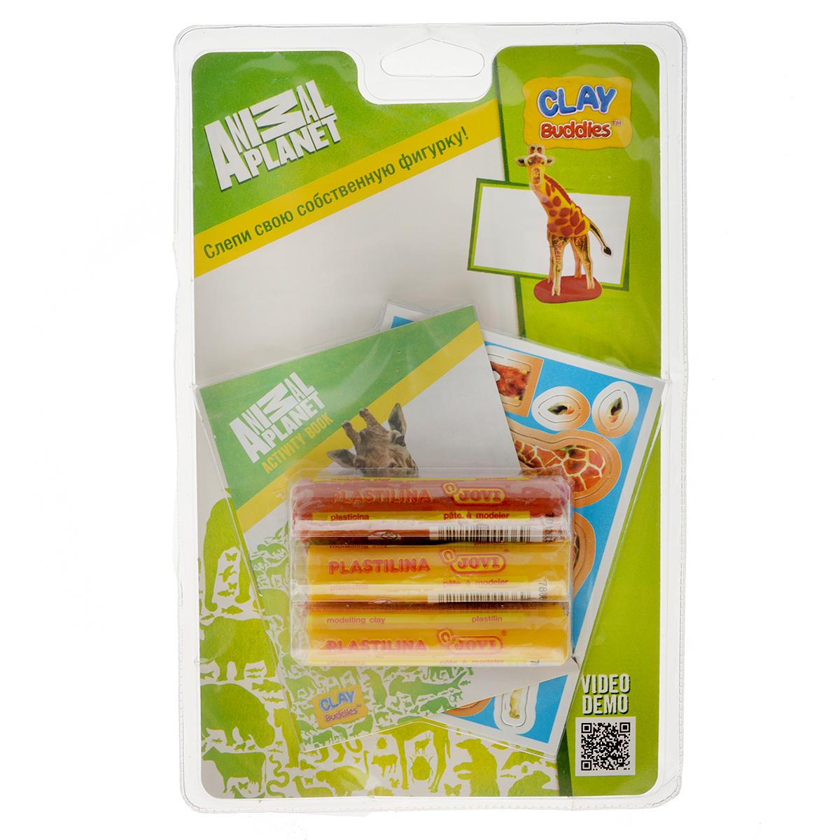 Giromax Набор для лепки Animal Planet. Жираф306758_жираф