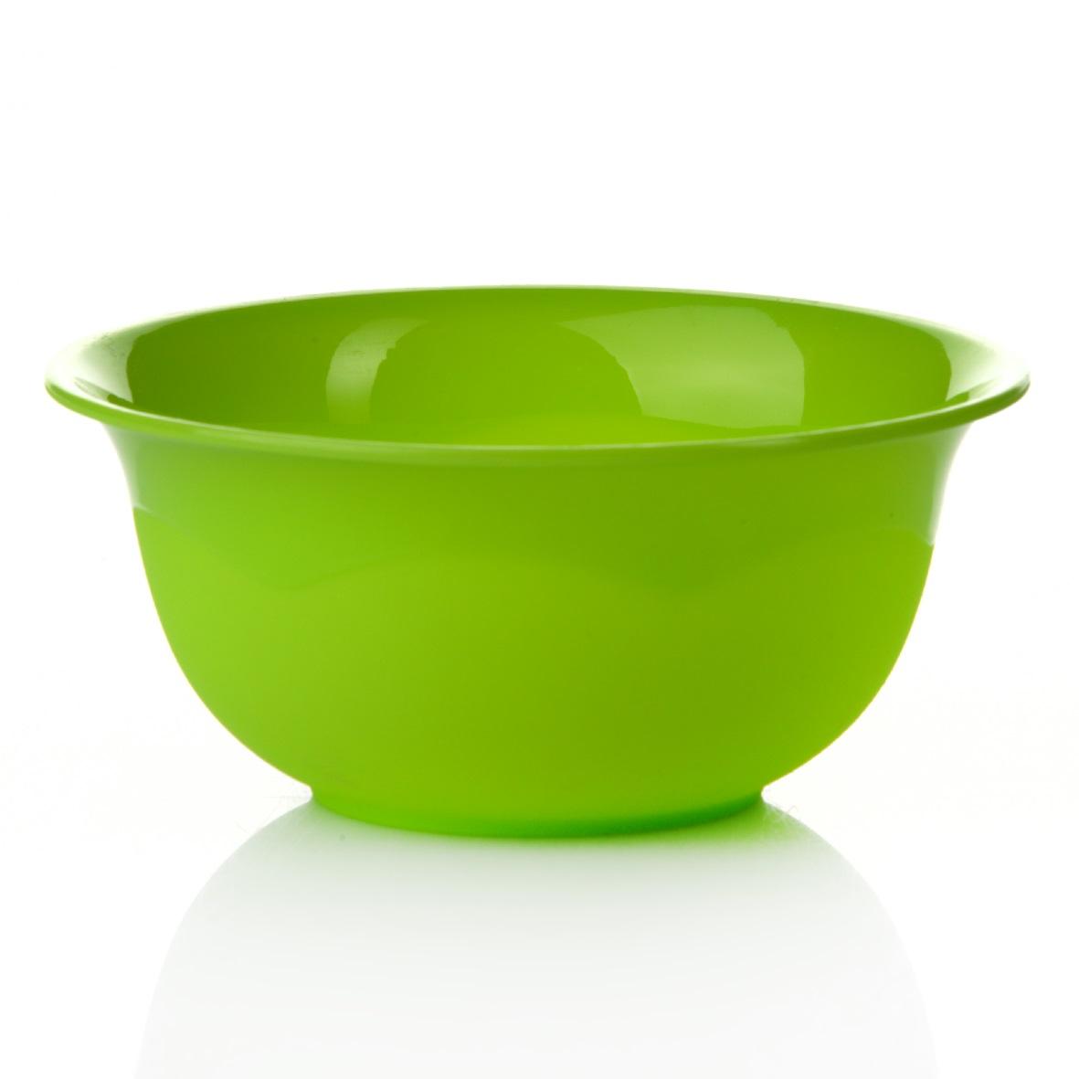 Миска Dunya Plastik, цвет: зеленый, 4,4 л10165Миска Dunya Plastik изготовлена из пластика, имеет круглую форму. Такая миска прекрасно подойдет для хранения различных бытовых предметов, пищевых продуктов и другое. Объем: 4,4 л. Диаметр: 27 см. Высота стенки: 12,5 см.
