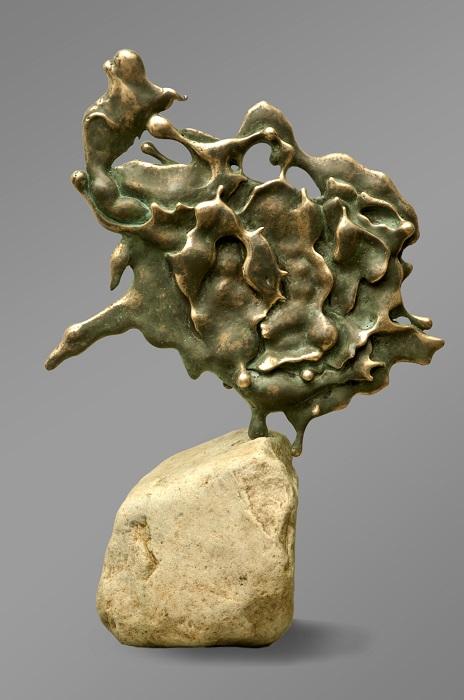 """Бронзовая скульптура """"Кабан"""". Коллекция """"Медяк"""". Авторская работа. Лимитированная серия. Бронза, тонировка, покрытие, камень. Мастерская"""