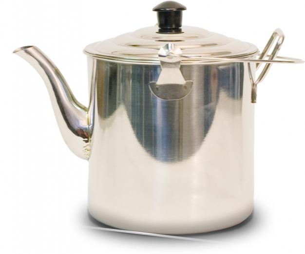 Чайник Canadian Camper CC-K227, 2,27 л32100025Чайник Canadian Camper CC-K227 выполнен из высококачественной нержавеющей стали. Имеет компактный дизайн, благодаря чему он замечательно подходит для использования как дома, так и на выезде. Оснащен ручкой и складной дугой для подвешивания над костром. Диаметр чайника (без учета носика и ручки): 14 см. Высота чайника: 13,5 см.