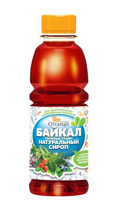 Натуральный сироп O!range Байкал. Таежные травы, 0,5 л