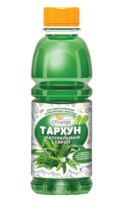Натуральный сироп O!range Тархун, 0,5 л