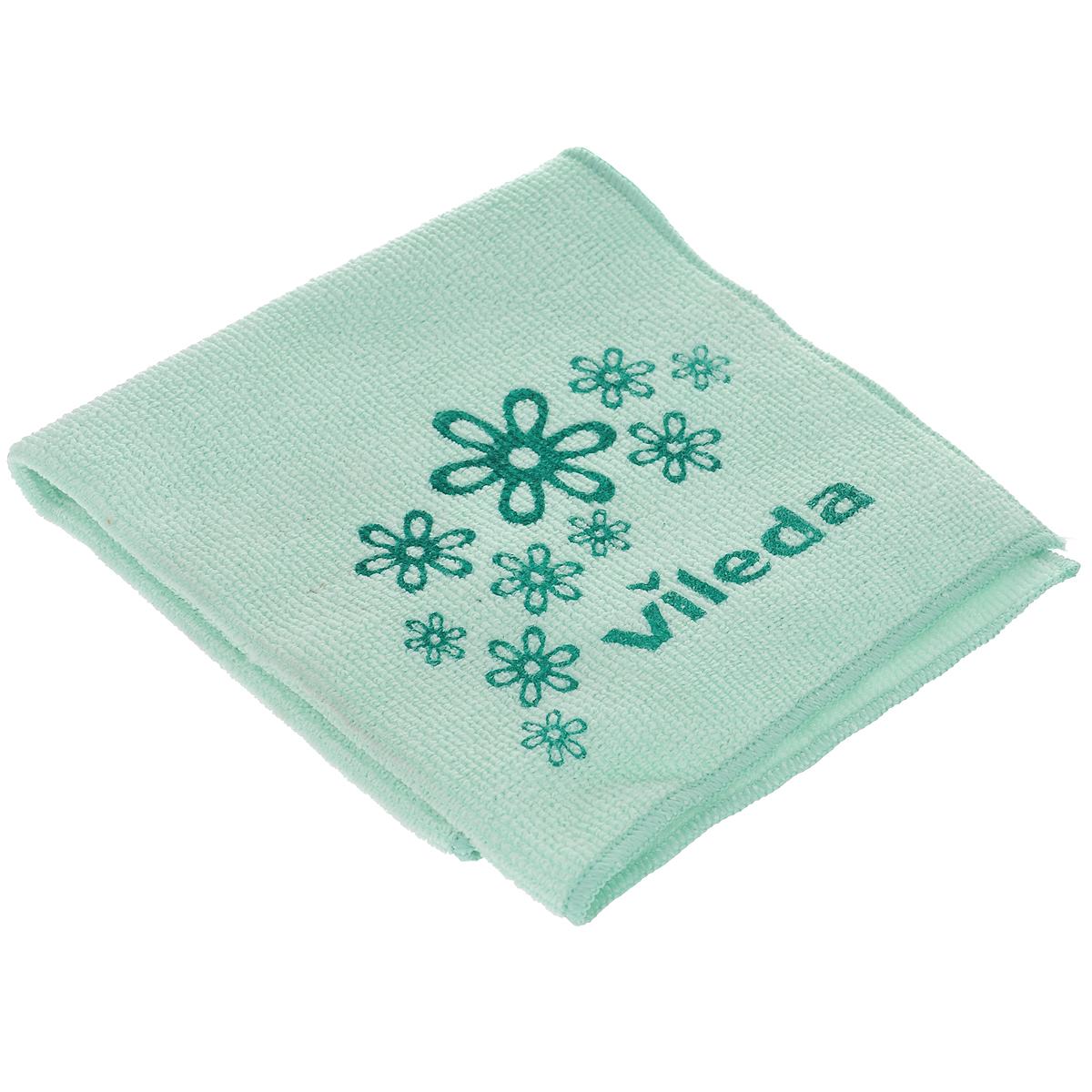 Салфетка универсальная Vileda Микрофибра, цвет: зеленый, 32 х 32 см32110735/138540Универсальная салфетка Vileda Микрофибра предназначена для сухой и влажной уборки. В сухом виде - для удаления пыли, во влажном - для удаления загрязнений и полировки. Она устраняет жир, грязь без следа и разводов. Изделие используется без чистящих средств. Салфетка имеет абразивный рисунок для безопасного удаления застарелых загрязнений. Размер: 32 см х 32 см.