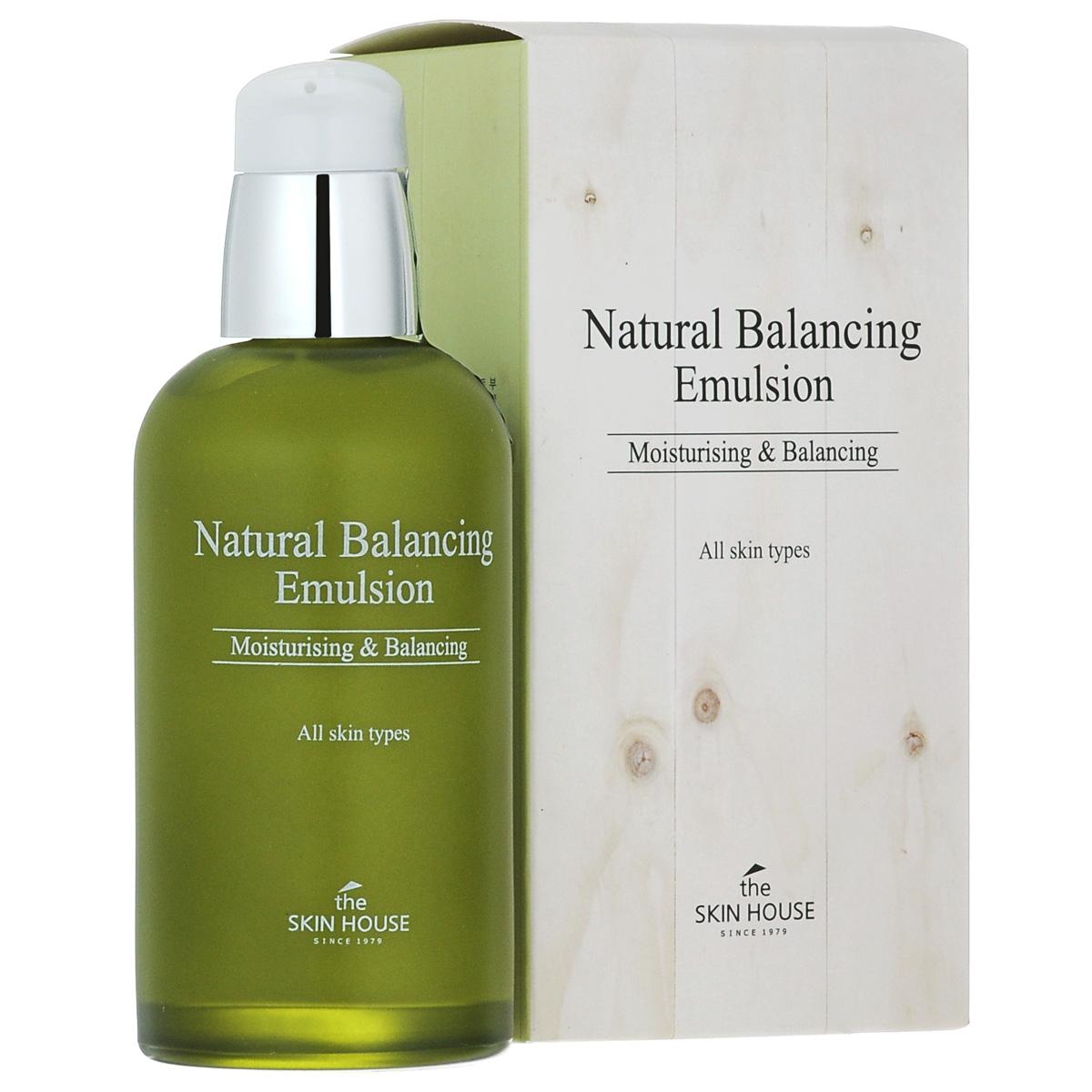 The Skin House Балансирующая эмульсия Natural balancing, 130 млУТ000001227Питающая эмульсия для жирной кожи интенсивно увлажняет и регулирует гидро-липидный баланс, контролируя выработку кожного себума. Делает кожу мягкой и эластичной, а так же предотвращает обезвоживание, сохраняя влагу в дерме. Успокаивает кожу, снимает стресс , минимизирует раздражения и сужает поры.