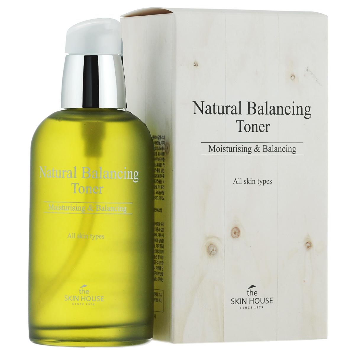The Skin House Балансирующий тоник Natural balancing, 130 мл