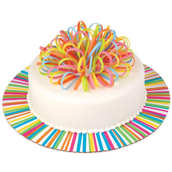 Основа для торта: Яркое колесо, Wilton, d=30 см, 3 шт., 2104-1339