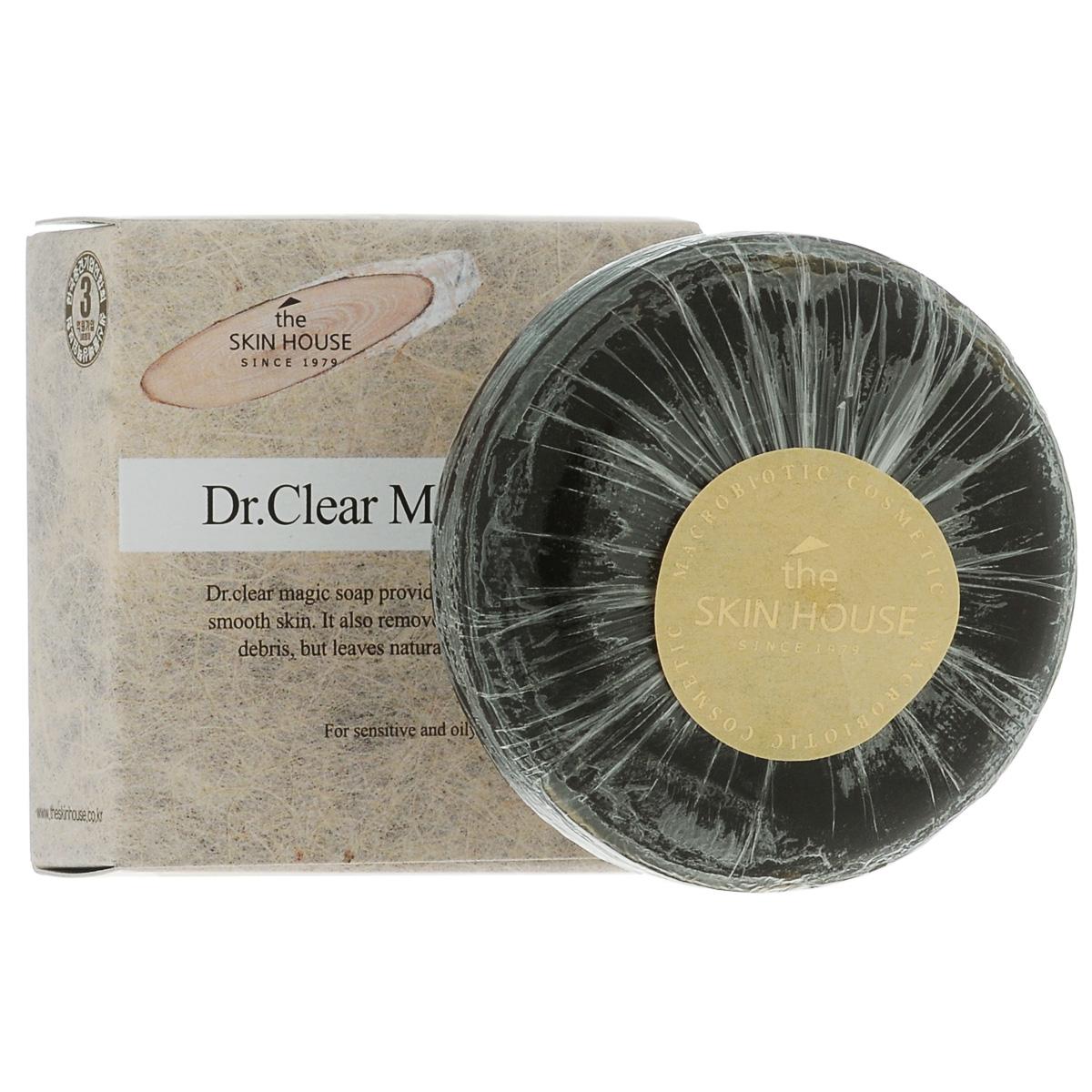 The Skin House Мыло от воспалений DR. Clear magic, 100 гУТ000001244Очищающее мыло для лица Dr.Clear создано для бережного ухода за проблемной чувствительной кожей. Мягкая пена эффективно удаляет загрязнения, стимулирует кровообращение и не раздражает кожу. Средство регулирует кожный баланс, оптимизируя и не нарушая его во время умывания. Для наилучшего эффекта используйте мыло 2 раза в день: утром и вечером.