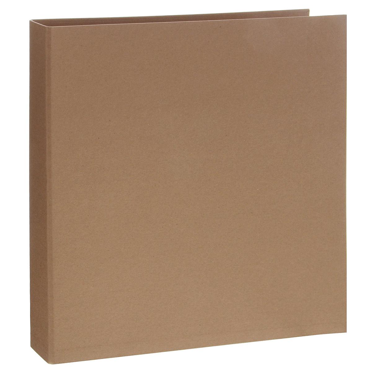 Папка для фотоальбома Folia с кольцами, цвет: бежевый, 36,5 см х 32,5 см7708065Папка Folia, изготовленная из плотного картона, предназначена для изготовления фотоальбома. Вы можете выступить в роли дизайнера, дать волю вашей фантазии и сделать прекрасный фотоальбом, например, в технике скрапбукинга. Папка оснащена четырьмя металлическими кольцами для листов альбома. Отдельные листы можно в любое время добавить, украсить заново или переместить в другое место альбома. Размер папки: 36,5 см х 32,5 см х 4 см.