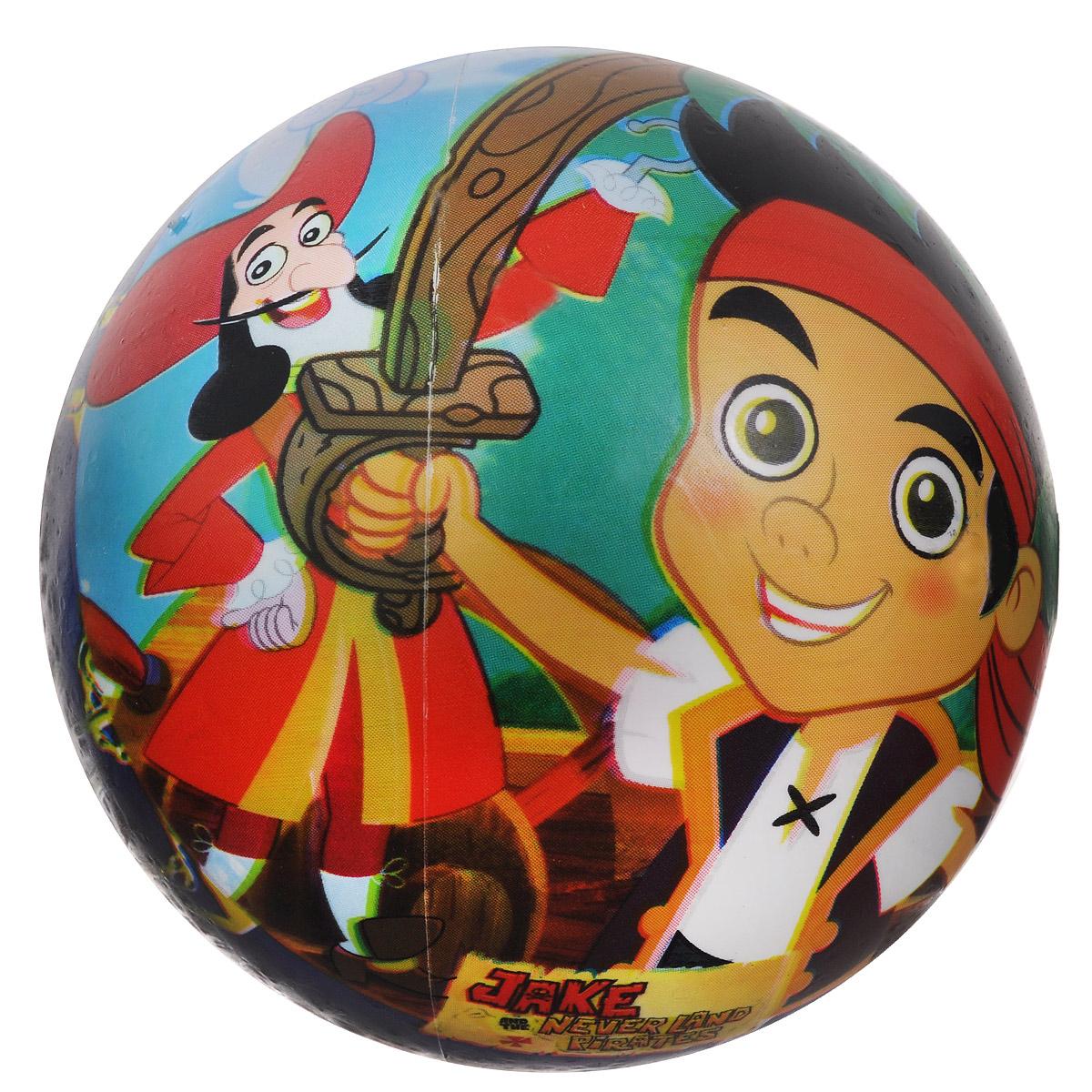 Мяч Mondo Джейк и Пираты Нетландии, 11 см, в ассортименте05/936Мяч Mondo Джейк и Пираты Нетландии непременно понравится вашему малышу. Маленький мячик Джейк и Пираты Нетландии изготовлен из полимерного материала высокого качества. Мячик отличается высокой износостойкостью и прекрасным качеством принта - изображение не стирается и не выцветает долгое время. Мячик оформлен красочными изображениями из популярного детского мультика про смелого и веселого мальчика, который отправился противостоять пиратам. Игра в мяч - отличное решение для непоседливого ребенка, чтобы направить его энергию в нужное русло! С универсальным резиновым мячом всегда найдется масса вариантов для игр: его можно катать, бросать в кольцо, играть в футбол, волейбол и другие активные игры. Занятия с мячом развивают координацию и ловкость, а кроме того способствуют социализации и развитию навыков общения со сверстниками. УВАЖАЕМЫЕ КЛИЕНТЫ! Товар поставляется в ассортименте. Поставка осуществляется в одном из приведенных вариантов в зависимости...