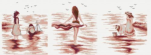 Набор для вышивания крестом Hobby & Pro Триптих: пляжные тени, 71 х 26 см S-045S-045Набор для вышивания Hobby & Pro Тигры поможет вам создать свой личный шедевр - красивую картину, вышитую нитками мулине. Работа, выполненная своими руками, станет отличным подарком для друзей и близких! Набор содержит: - белая канва Aida 14 (5,5 клеток в см) - 30 см х 40 см; - нитки мулине Bestex (22 цвета); - игла; - цветная схема.