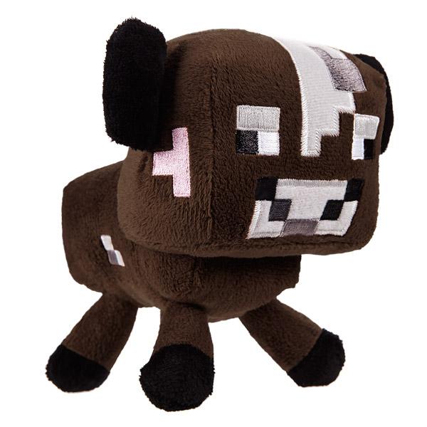 Мягкая игрушка Minecraft Детеныш коричневой грибной коровы, 15 см16538Мягкая игрушка Minecraft Детеныш коричневой грибной коровы станет прекрасным подарком любителю всего необычного и оригинального. Она выполнена из приятного на ощупь полиэстера в виде персонажа компьютерной игры Minecraft - детеныша коричневой грибной коровы (Baby Cow) и оформлена вышивкой. Minecraft - компьютерная игра в жанре песочницы с элементами выживания и открытым миром. Мир игры полностью состоит из блоков. Игроки, используя различные режимы, должны строить дома, добывать и использовать ресурсы, бороться с монстрами и т.д.