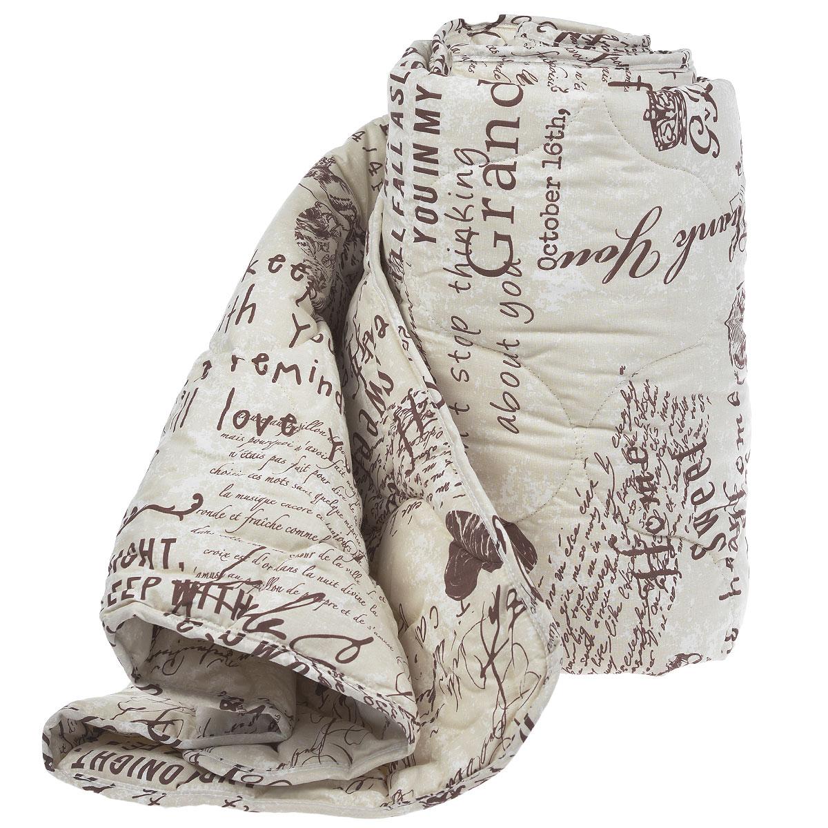 Одеяло Comfort Line Меринос, наполнитель: шерсть мериноса, 175 х 205 см183679Классическое одеяло Comfort Line Меринос подарит вам незабываемое чувство комфорта и умиротворения. Чехол выполнен из натурального хлопка. Внутри - наполнитель из мериносовой шерсти. Одеяло постоянно поддерживает нужную температуру: оно греет зимой и дает прохладу летом. Одеяло Comfort Line Меринос помогает просыпаться бодрыми и полными сил. Оно разработано специально для активных людей, заботящихся о своём здоровье, проводящих много времени у компьютера. Изделия из мериносовой шерсти великолепно стимулирует кровообращение, помогают людям, страдающим остеохондрозом, ревматизмом, бронхиальными недугами. Одеяло упаковано в пластиковую сумку-чехол, закрывающуюся на застежку-молнию. Рекомендации по уходу: - Можно стирать в стиральной машине при температуре не выше 40°С. - Не отбеливать. - Не гладить. - Не сушить в барабанной сушке. Материал чехла: хлопок. Наполнитель: мериносовая шерсть. Размер: 175 см х 205 см. ...